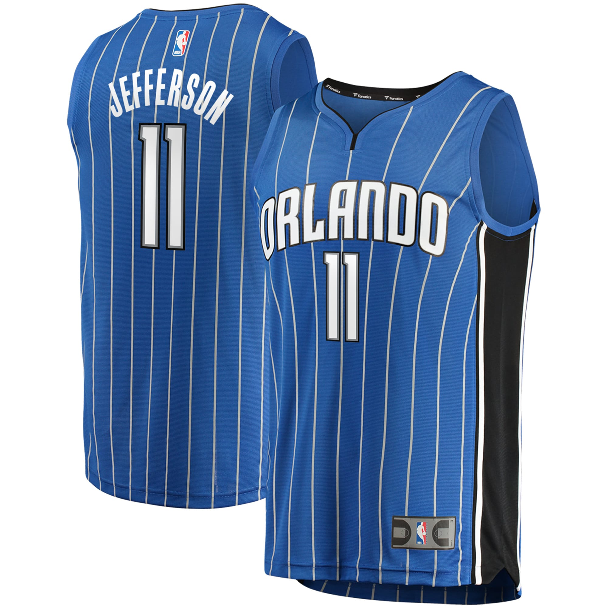 Amile Jefferson Orlando Magic Fanatics Branded Fast Break Replica Jersey - Icon Edition - Blue