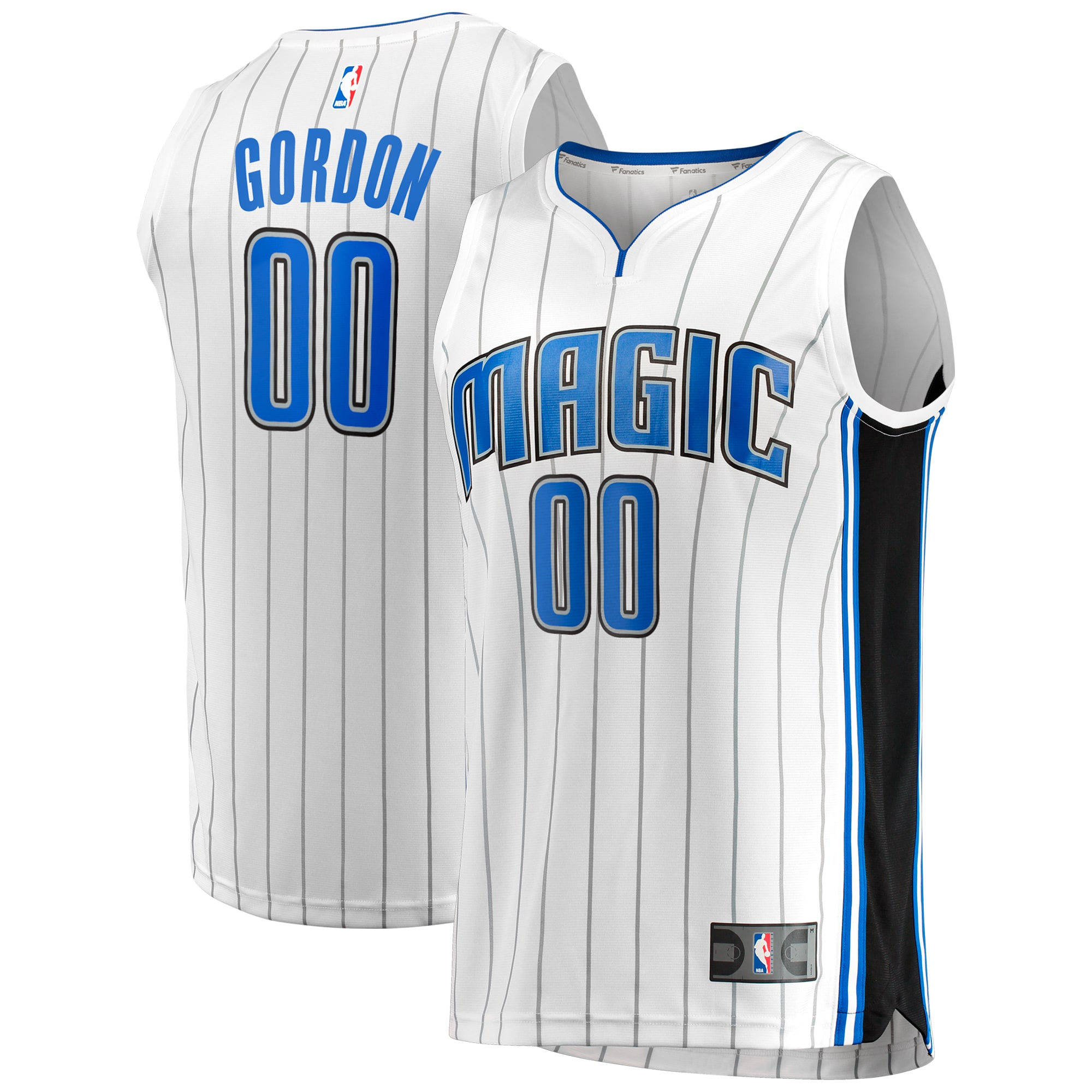 Aaron Gordon Orlando Magic Fanatics Branded Fast Break Jersey - Association Edition - White