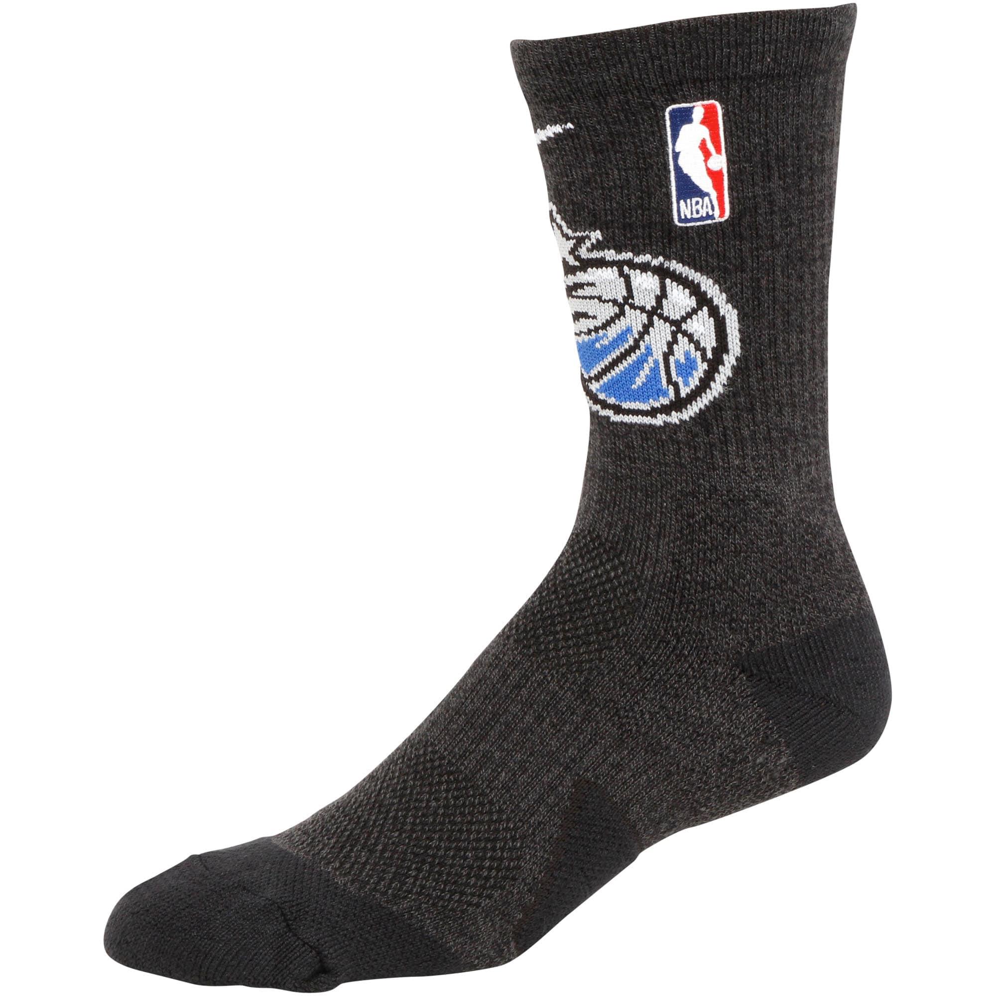 Orlando Magic Nike Elite Team Performance Crew Socks - Black