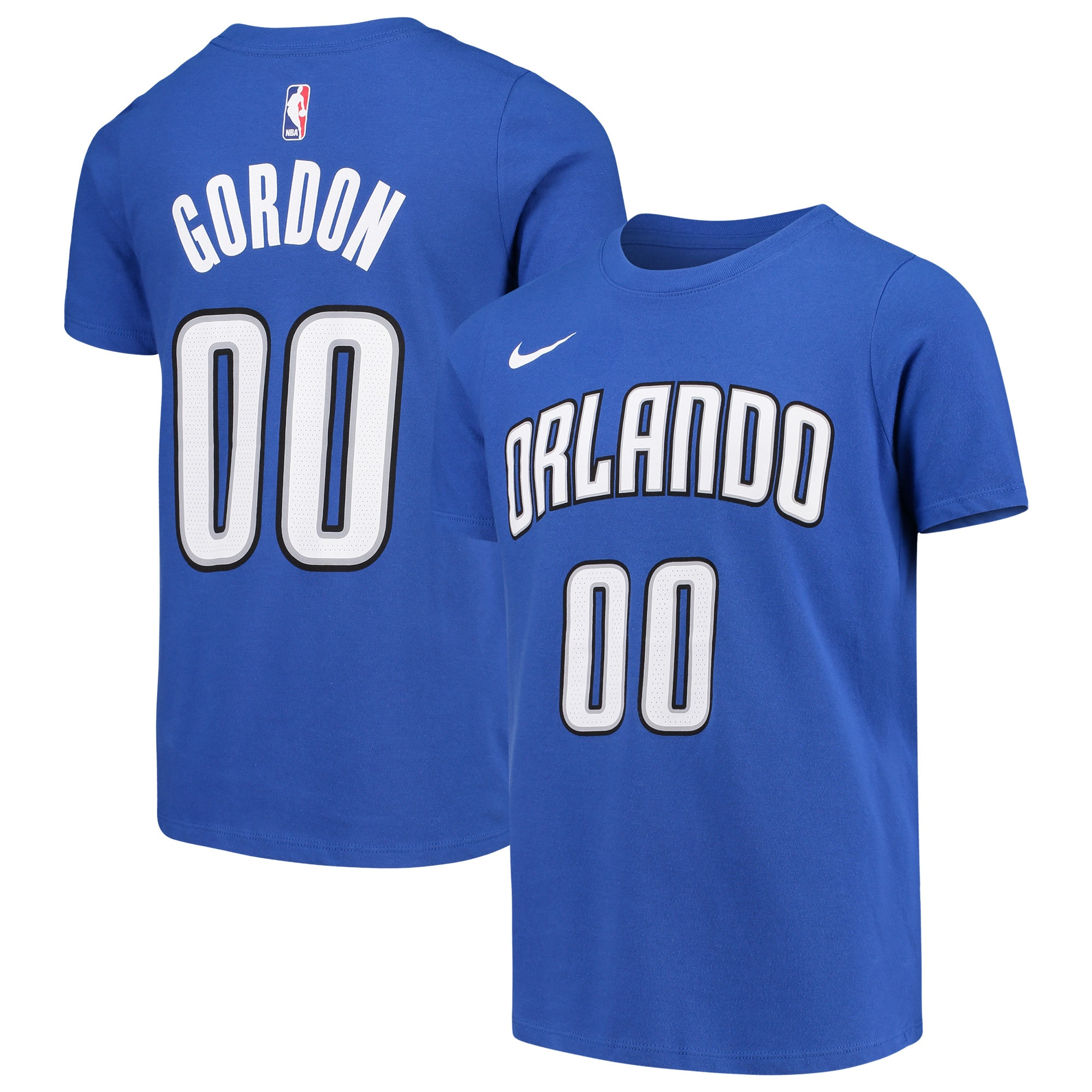 Aaron Gordon Orlando Magic Nike Youth Name & Number Performance T-Shirt - Blue