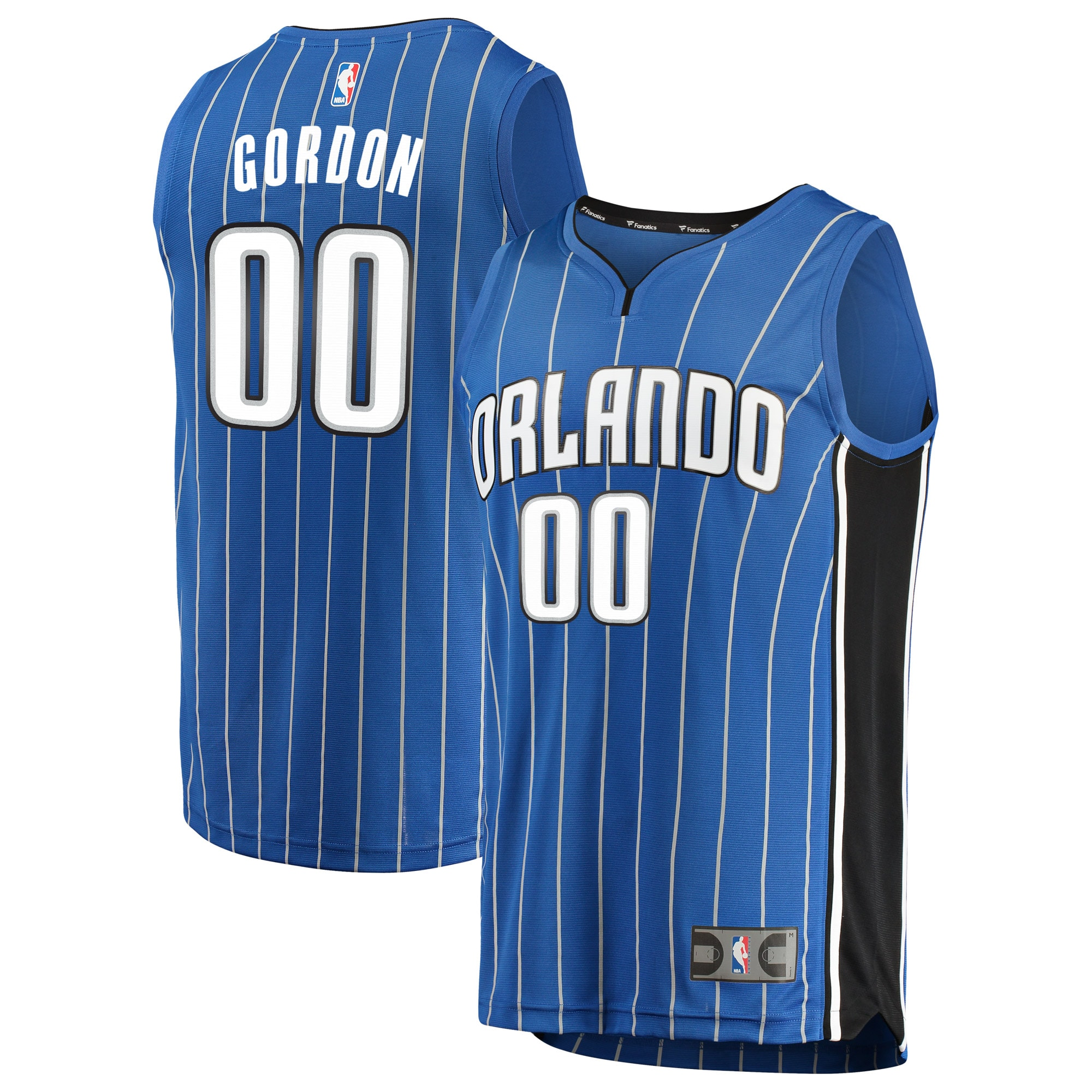 Aaron Gordon Orlando Magic Fanatics Branded Fast Break Replica Jersey Blue - Icon Edition