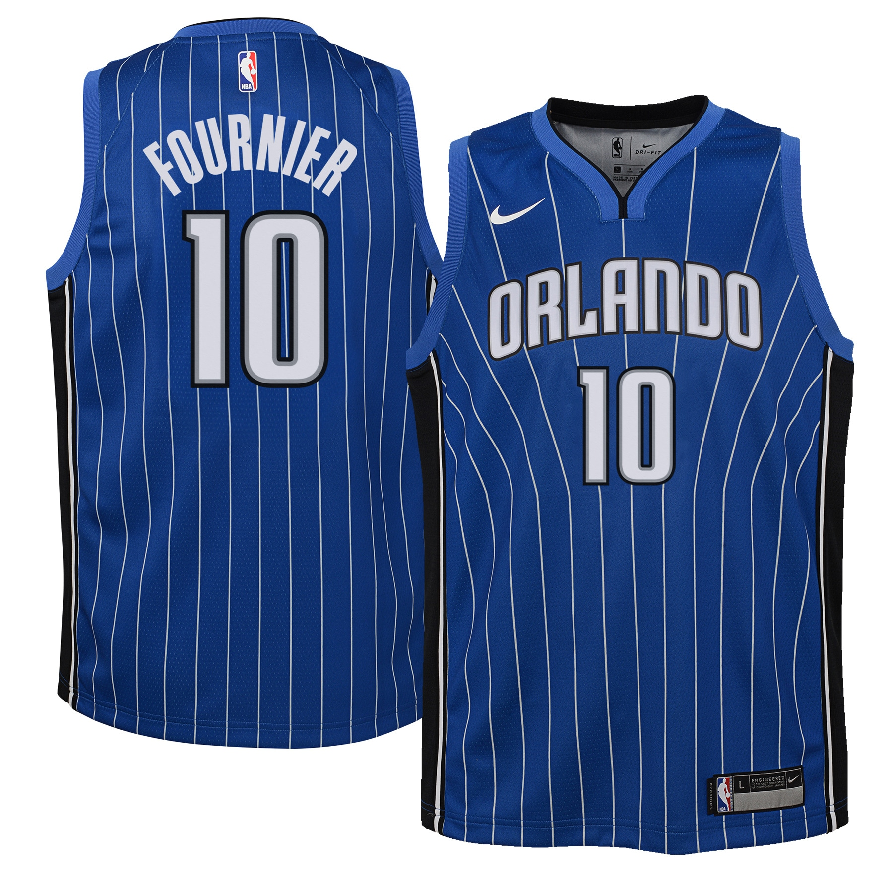 Evan Fournier Orlando Magic Nike Youth Swingman Jersey Royal - Icon Edition