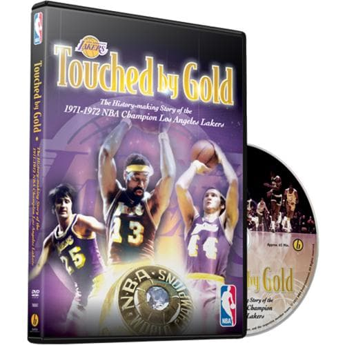 NBA Los Angeles Lakers Touched By Gold