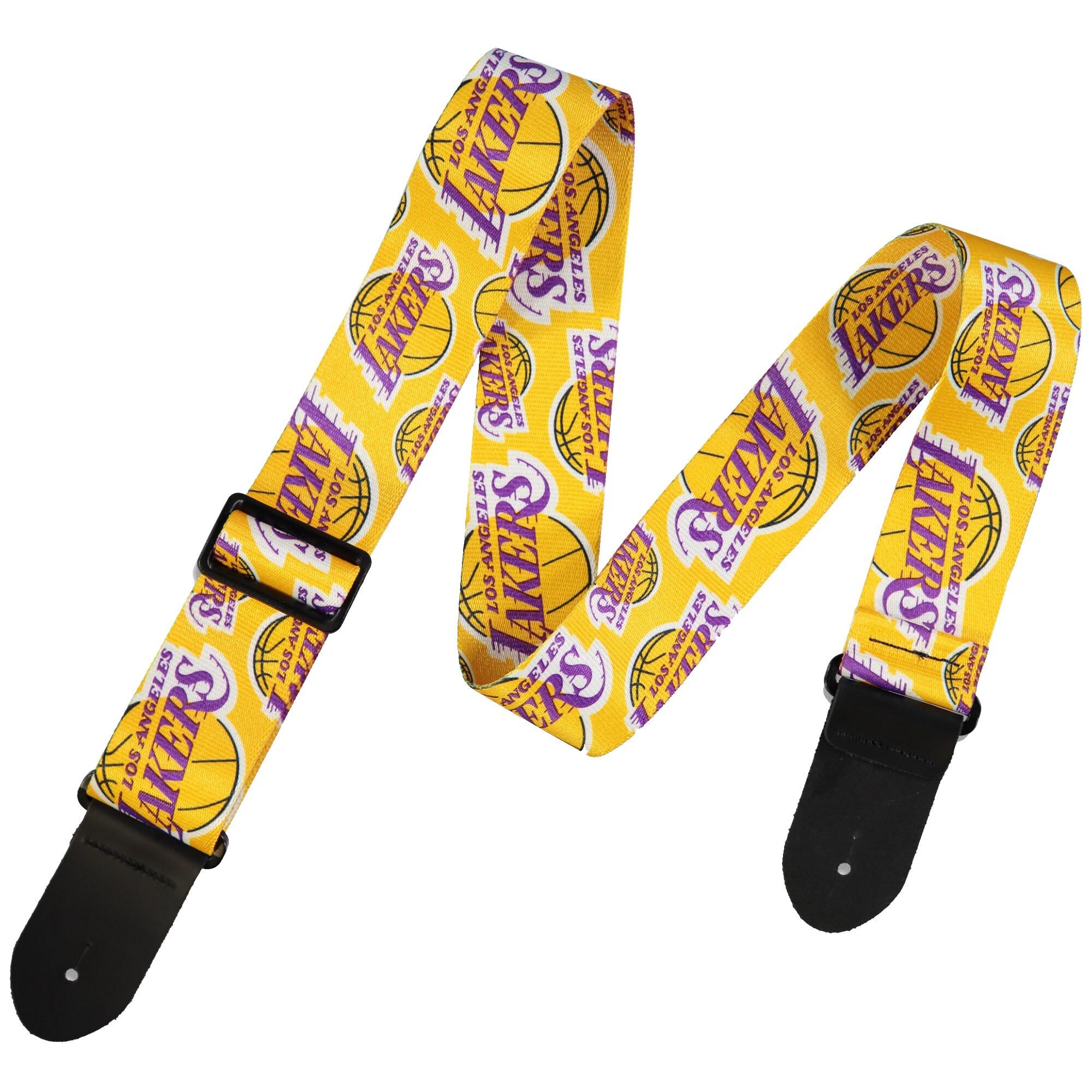 Los Angeles Lakers Woodrow Guitar Guitar Strap
