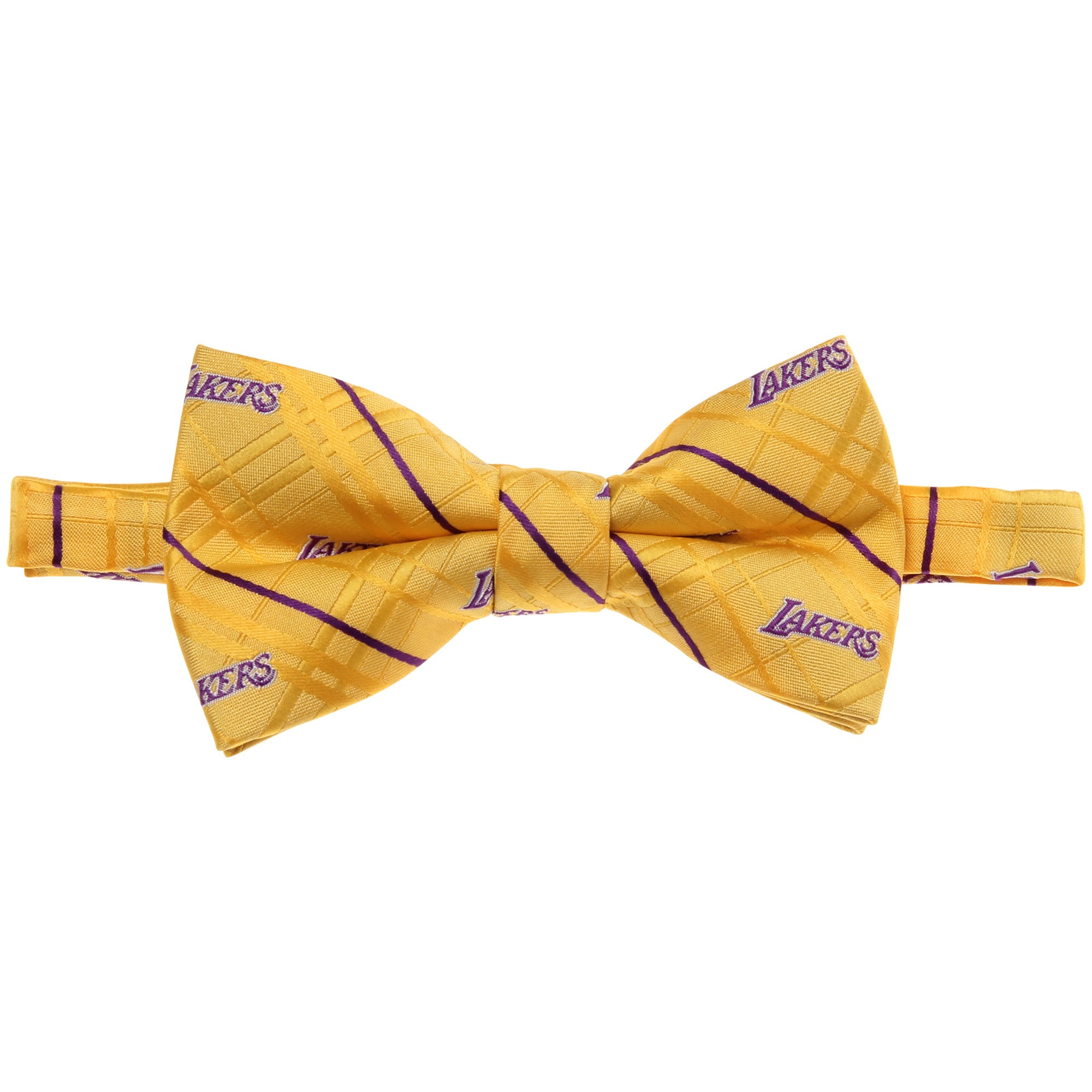 Los Angeles Lakers Oxford Bow Tie - Gold