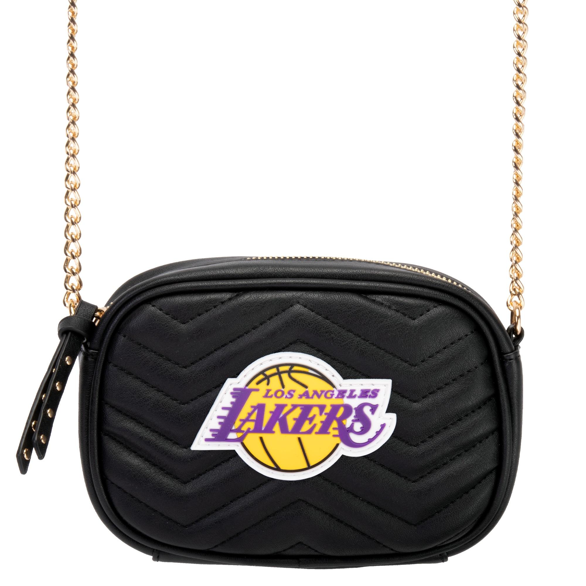 Los Angeles Lakers Women's Crossbody Bag - Black