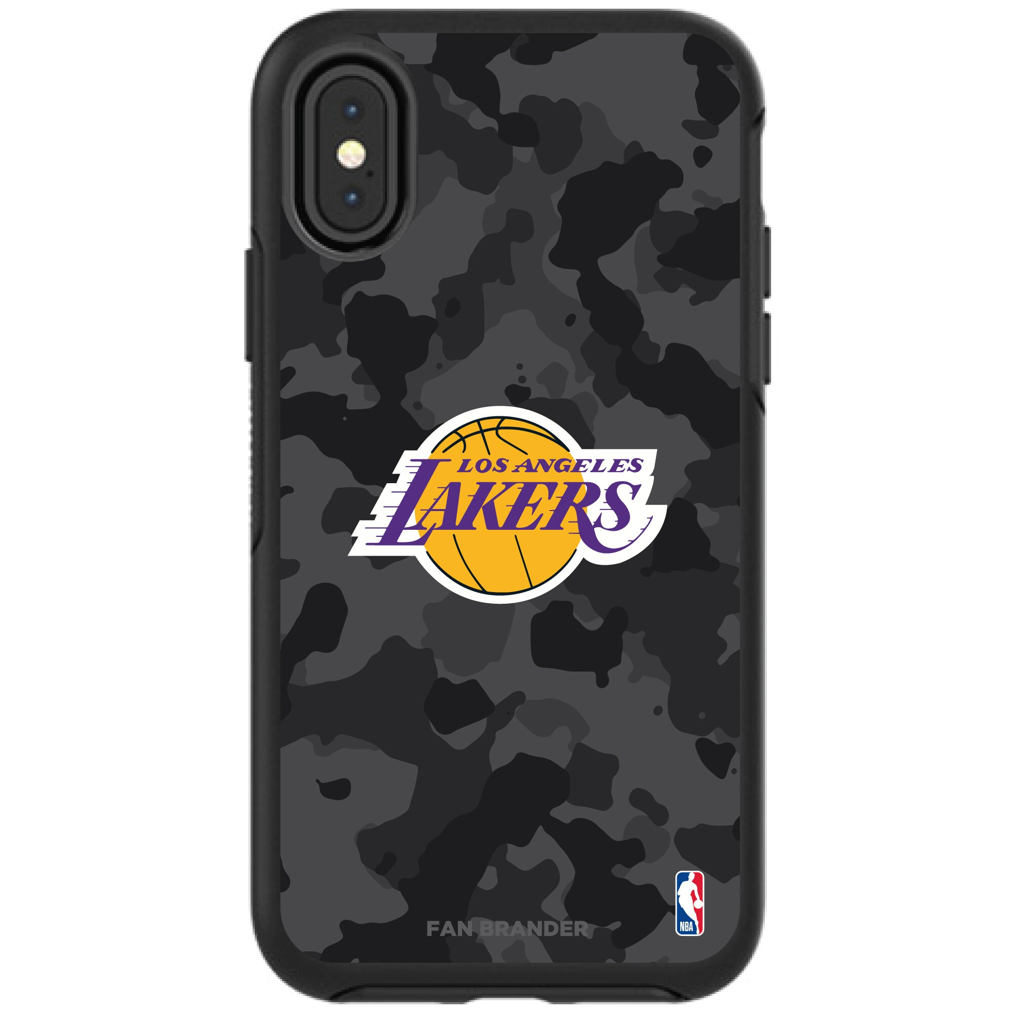 Los Angeles Lakers OtterBox Urban Camo iPhone Case
