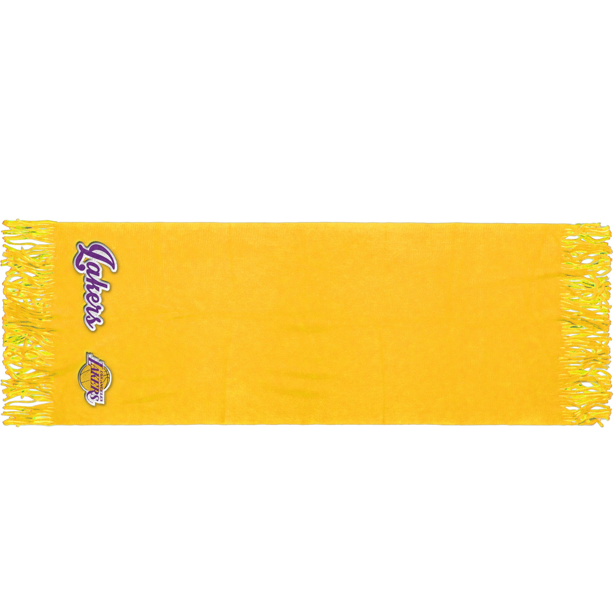 """Los Angeles Lakers 81"""" x 27"""" Oversized Fringed Scarf"""