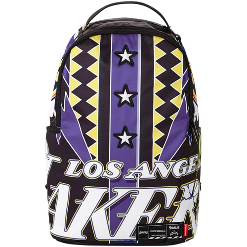 Los Angeles Lakers Sprayground Lab Backpack