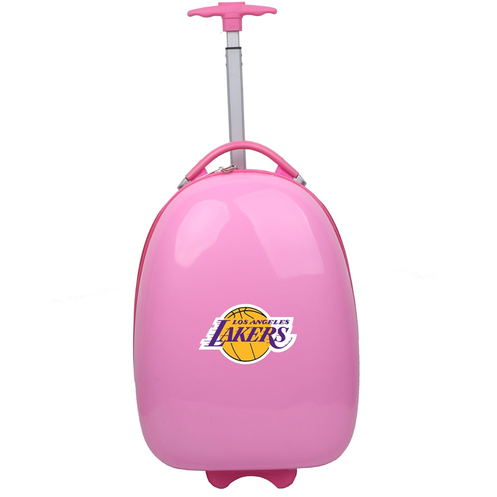 Los Angeles Lakers Youth 18'' Luggage Pod - Pink