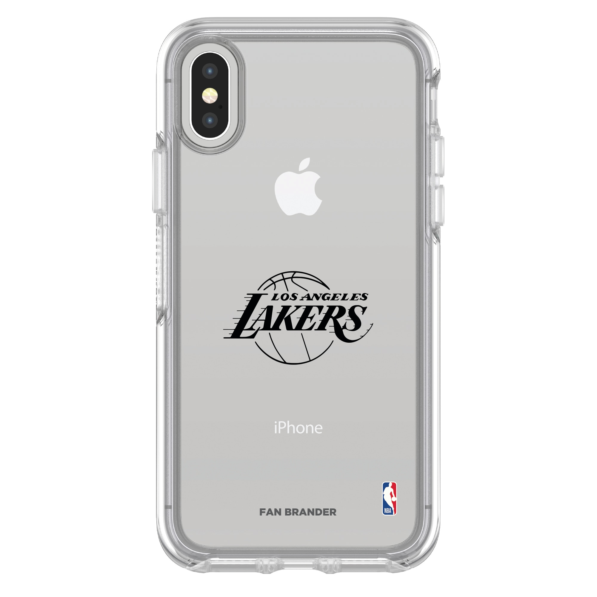 Los Angeles Lakers OtterBox Clear iPhone Symmetry Case