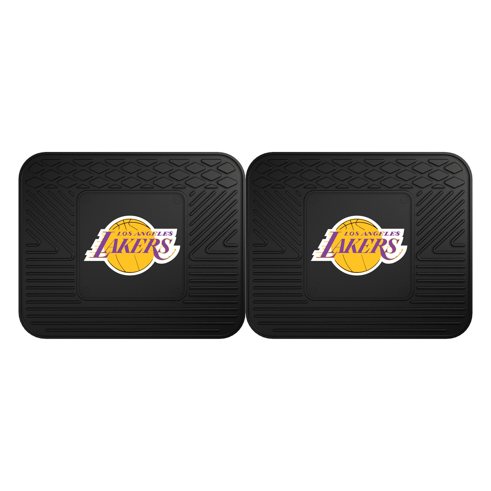 Los Angeles Lakers 2-Pack Utility Mat Set