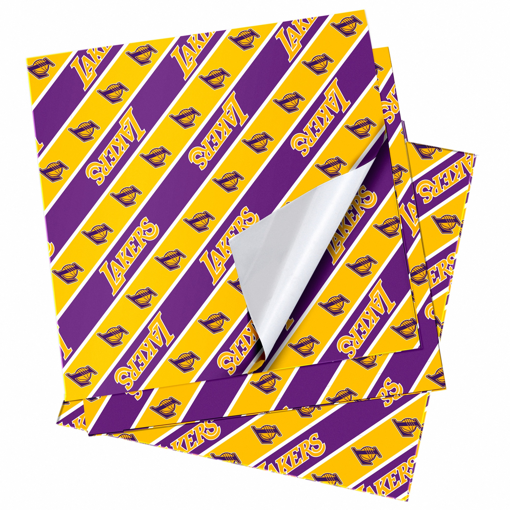 "Los Angeles Lakers 20"" x 30"" Wrapping Paper"