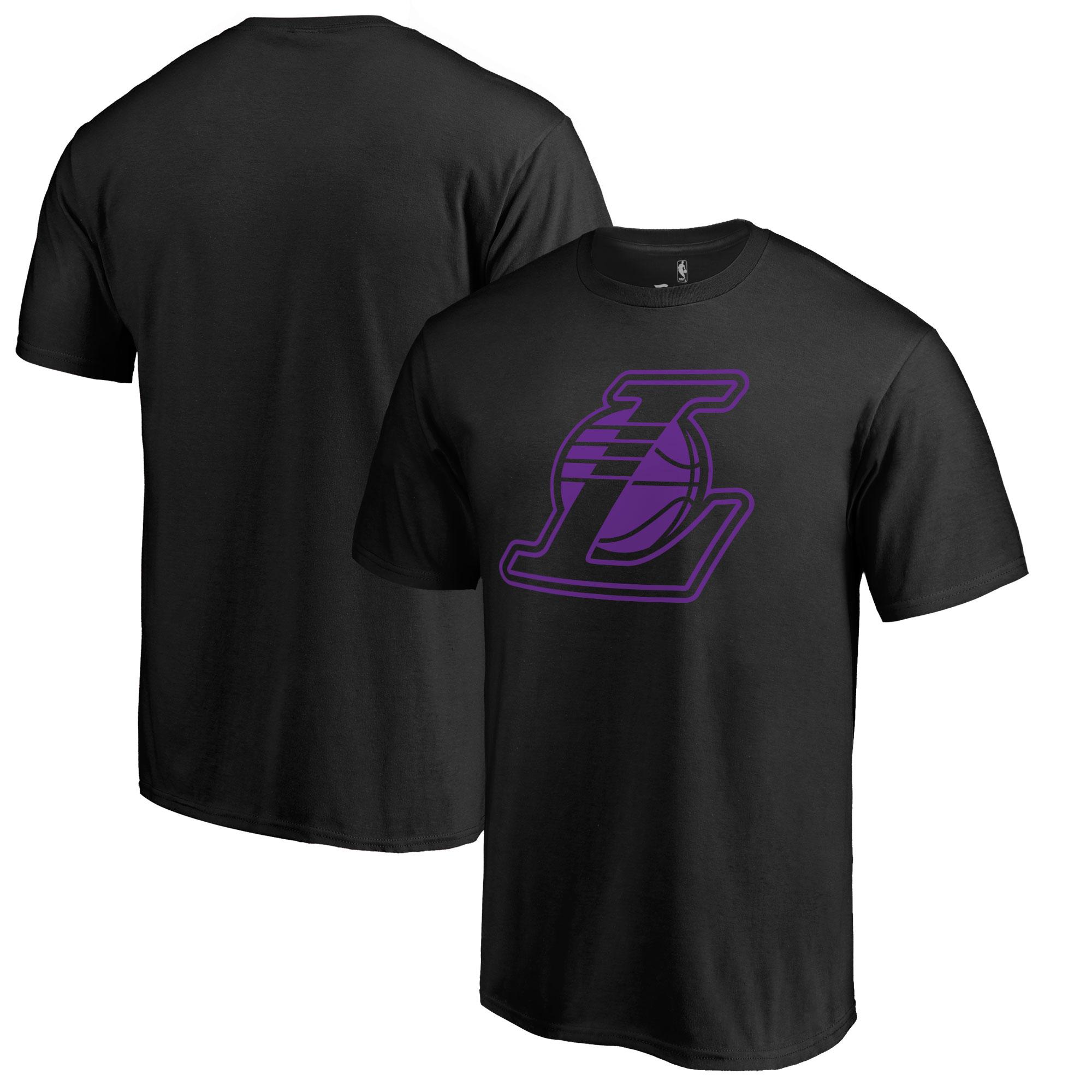 Los Angeles Lakers Fanatics Branded Big & Tall Taylor T-Shirt - Black