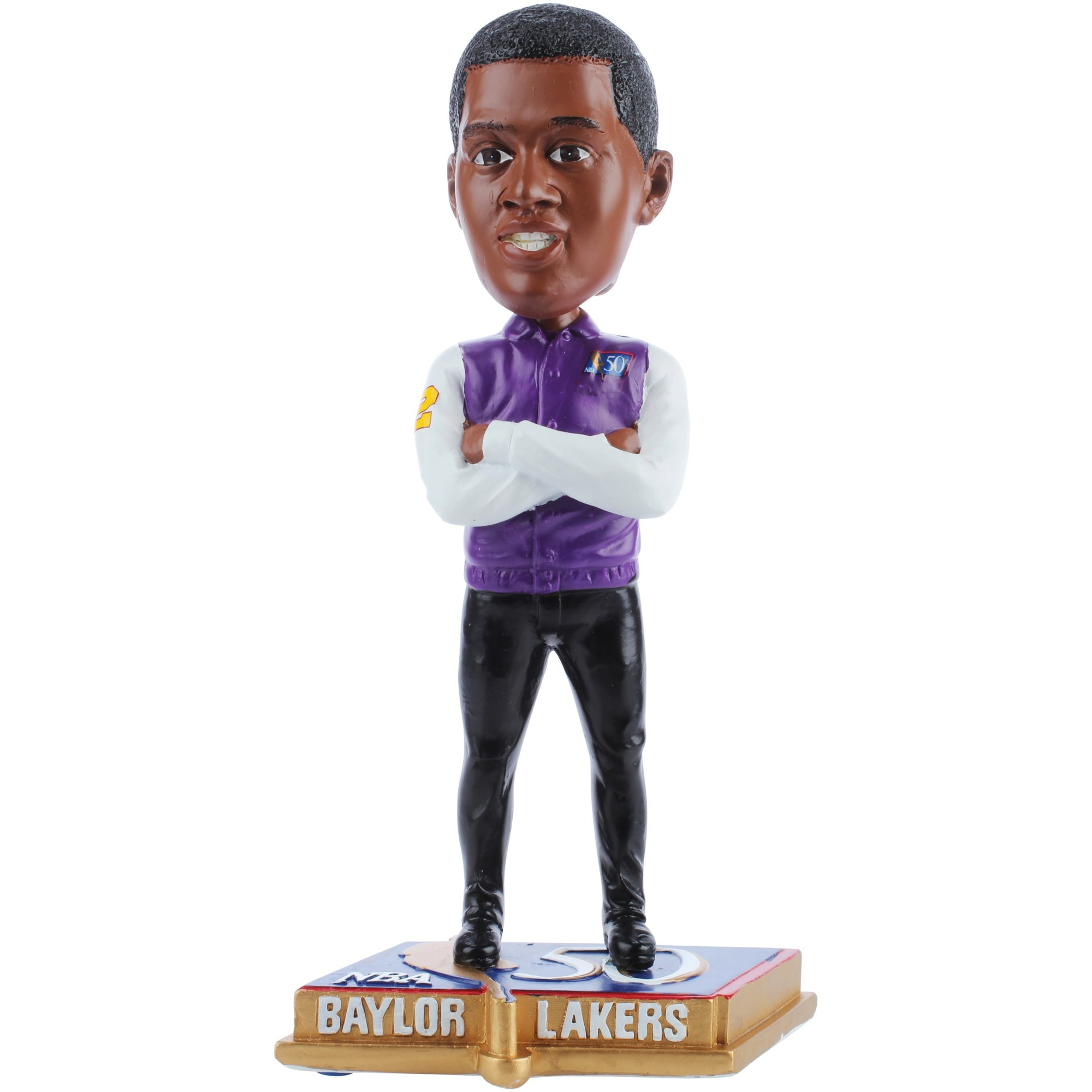 Elgin Baylor Los Angeles Lakers 50 Greatest NBA Players Bobblehead