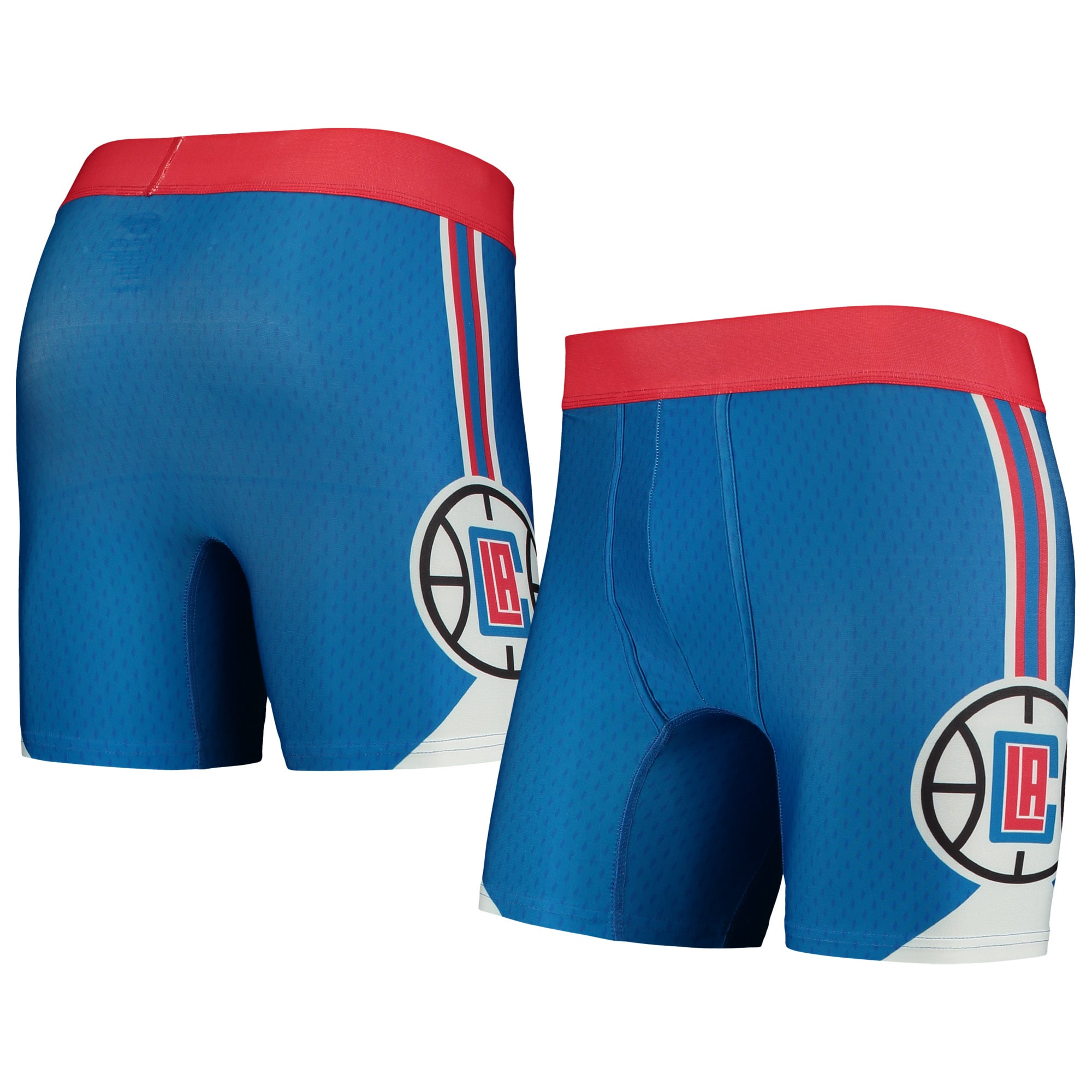 LA Clippers Concepts Sport Flyaway Swingman Boxer Briefs - Royal