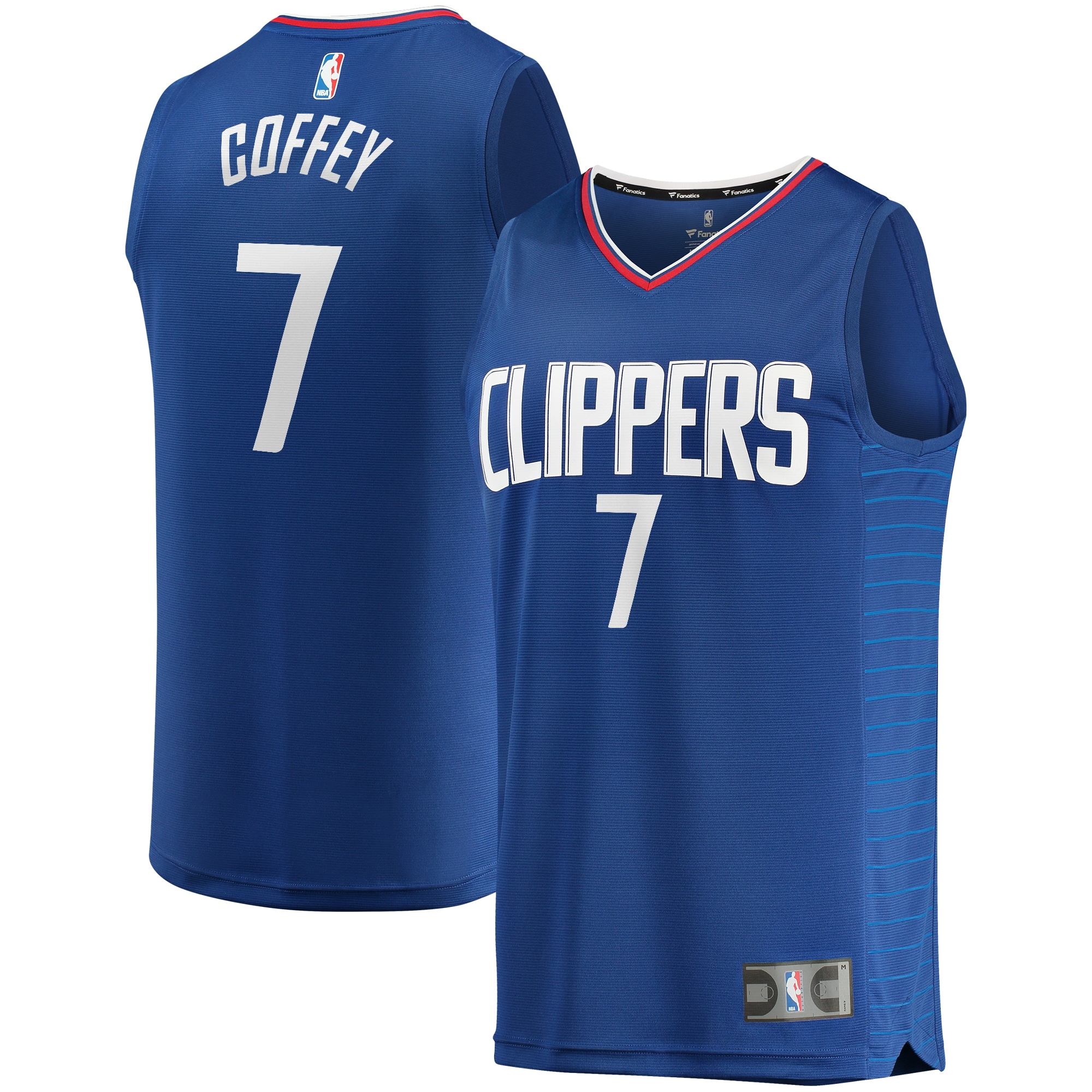 Amir Coffey LA Clippers Fanatics Branded Youth Fast Break Replica Jersey - Icon Edition - Royal