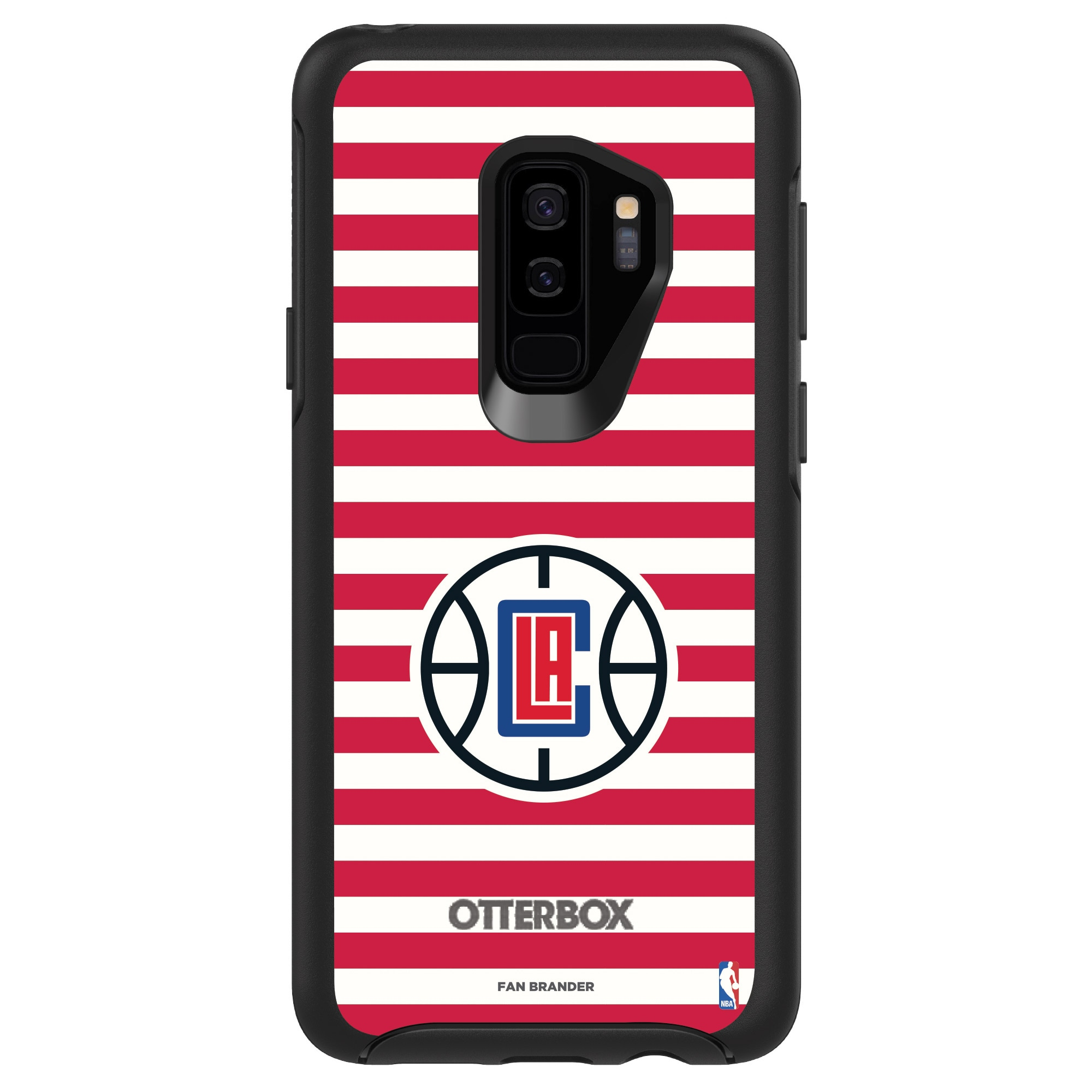LA Clippers OtterBox Galaxy Symmetry Striped Design Case
