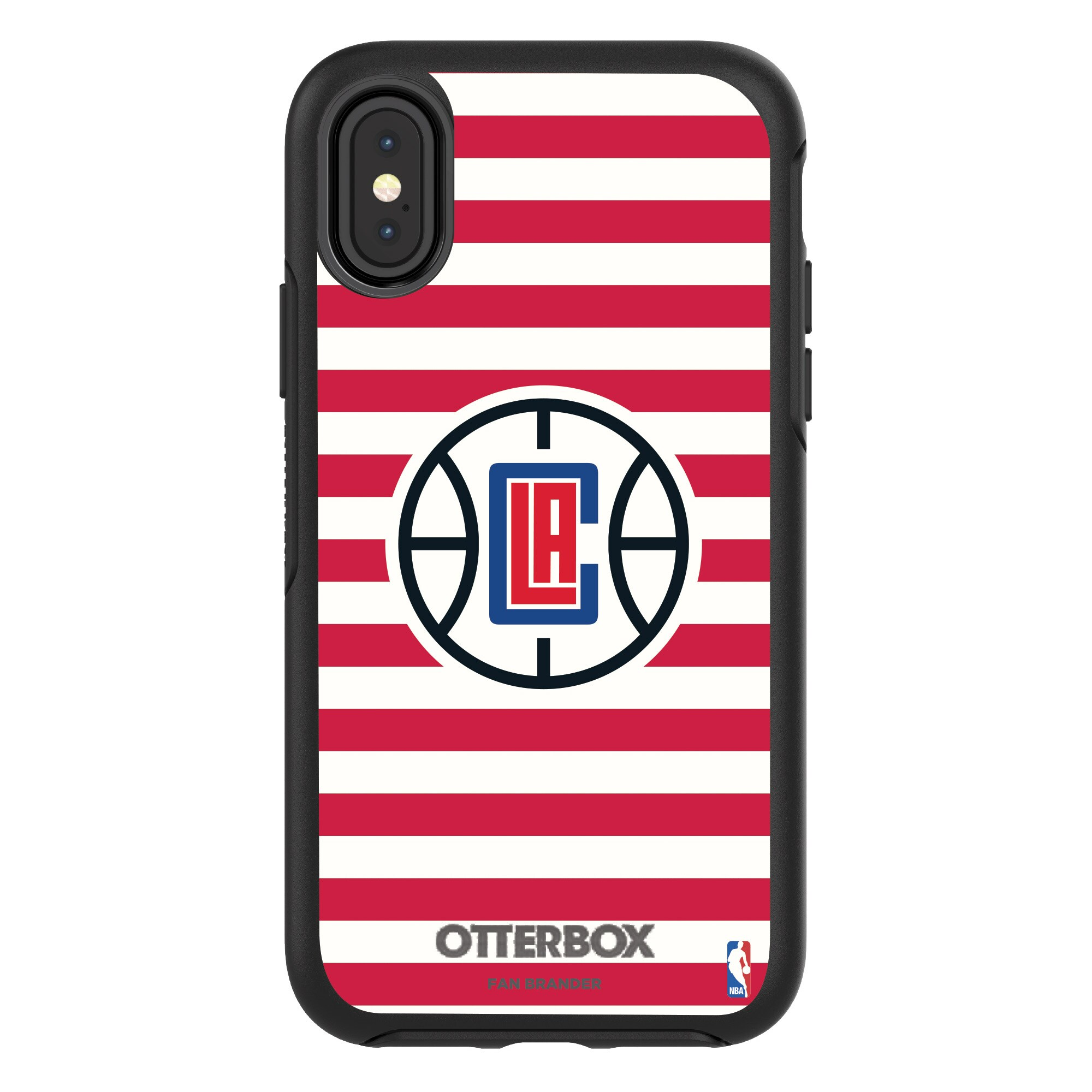 LA Clippers OtterBox iPhone Symmetry Striped Design Case