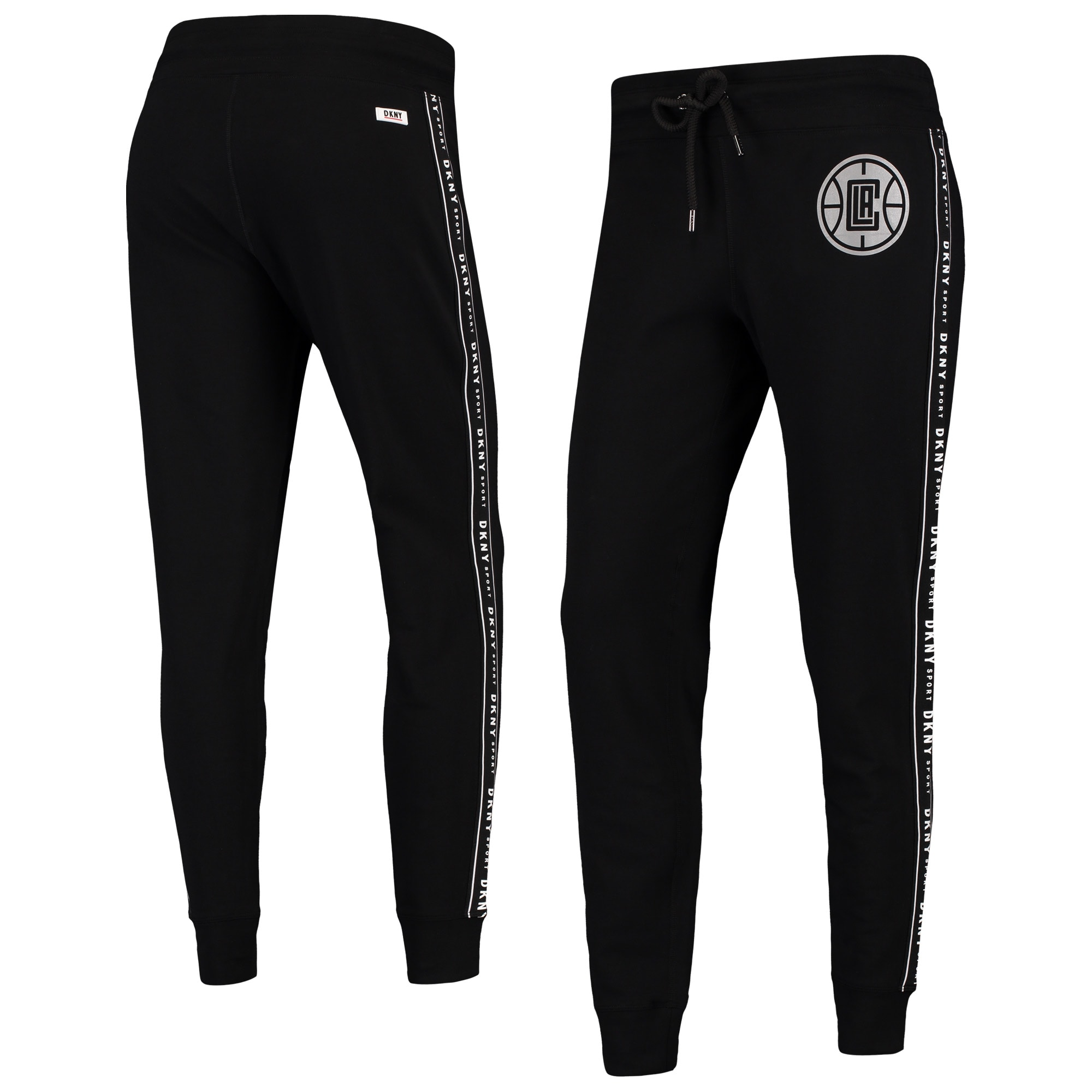 LA Clippers DKNY Sport Women's Brooke Jogger Pants - Black