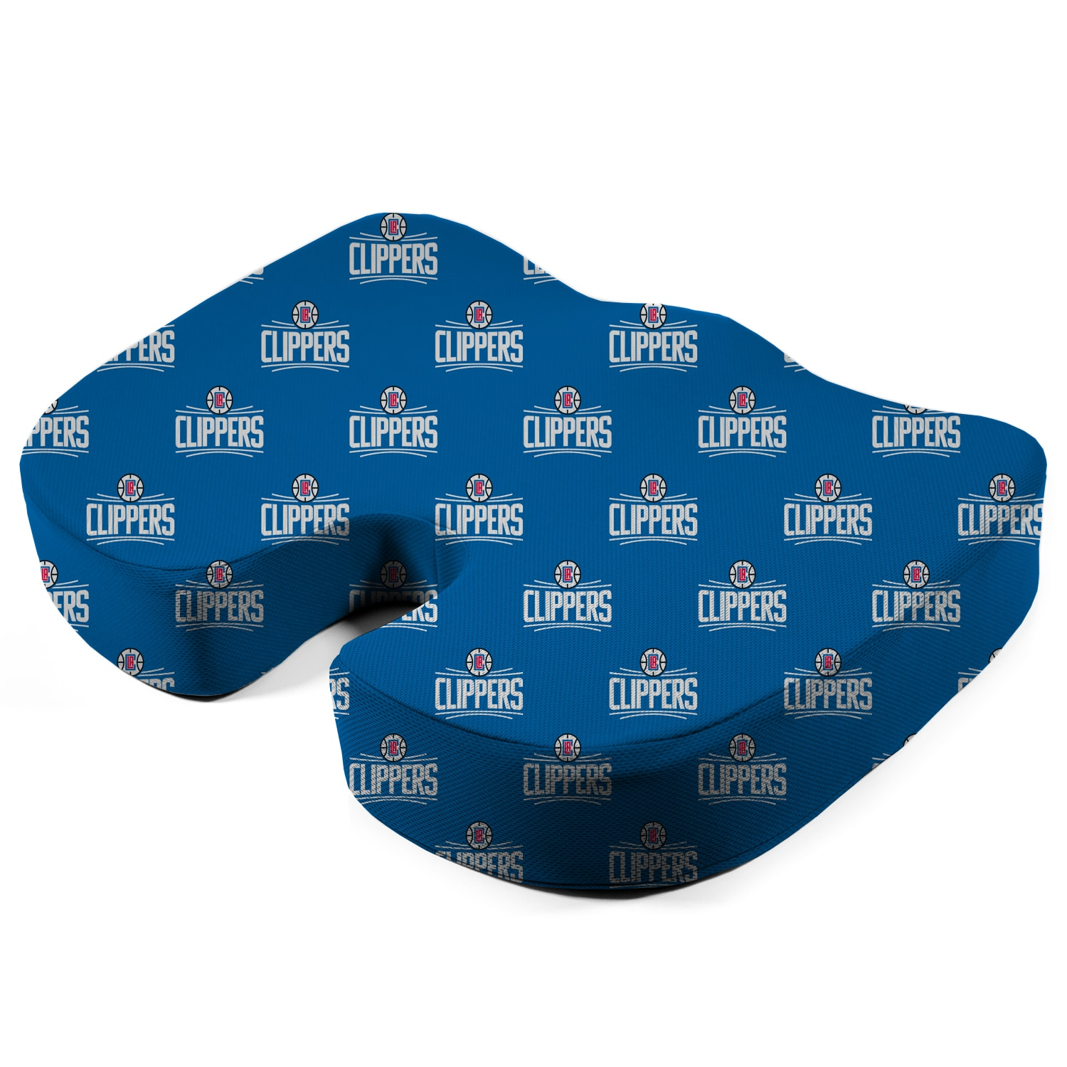 LA Clippers Memory Foam Seat Cushion