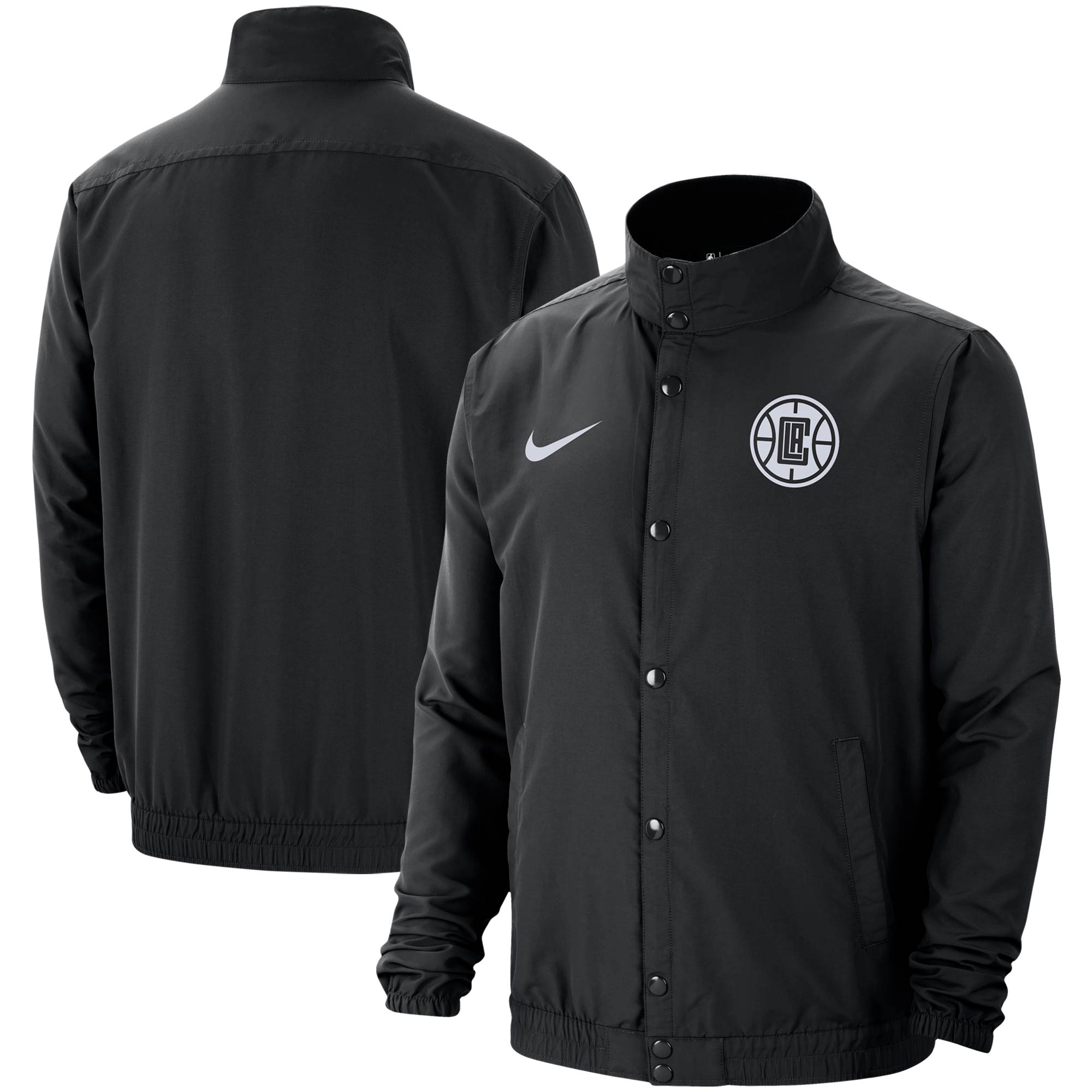LA Clippers Nike City Edition 2.0 Lightweight DNA Full-Snap Jacket - Black