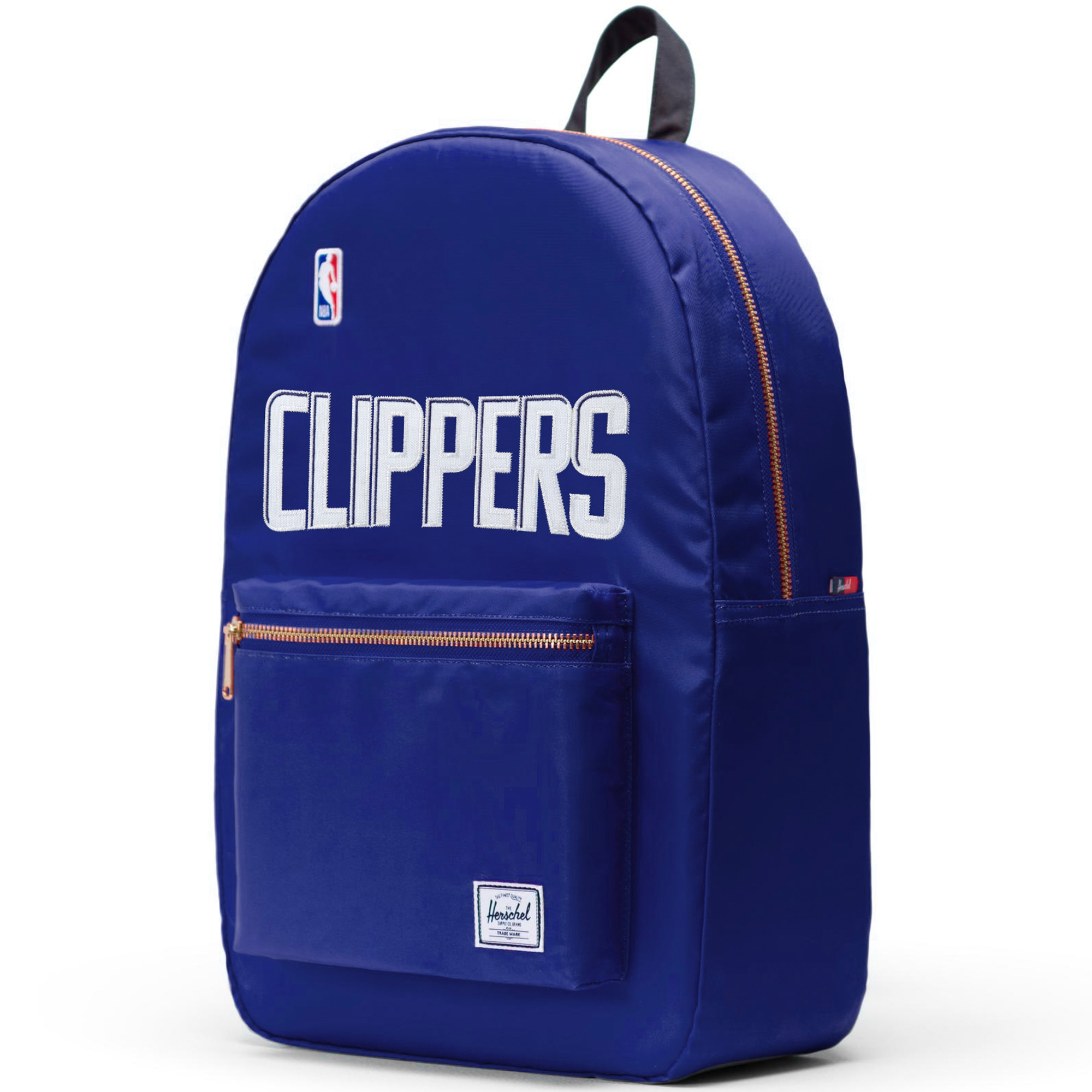 LA Clippers Herschel Supply Co. Satin Settlement Backpack - Blue