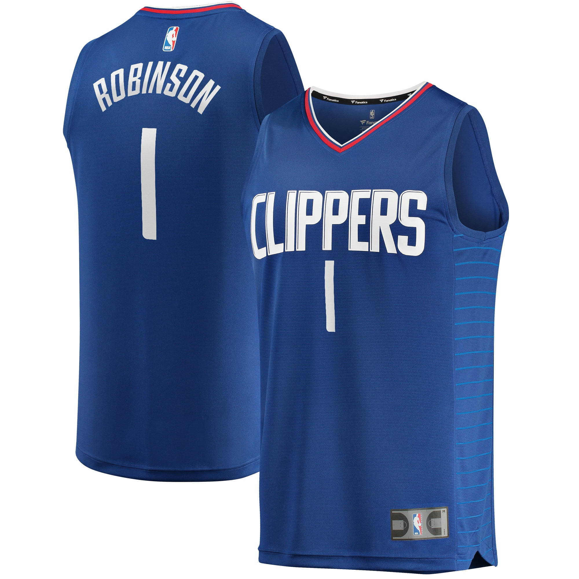Jerome Robinson LA Clippers Fanatics Branded Youth Fast Break Replica Player Jersey - Icon Edition - Red