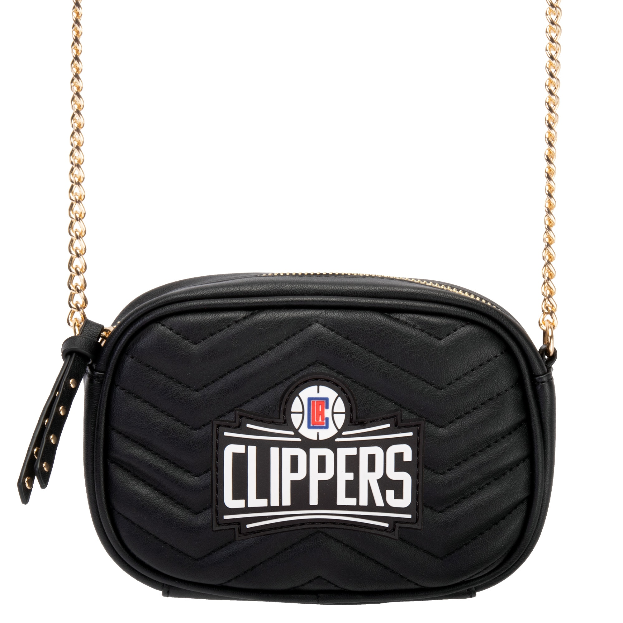 LA Clippers Women's Crossbody Bag - Black