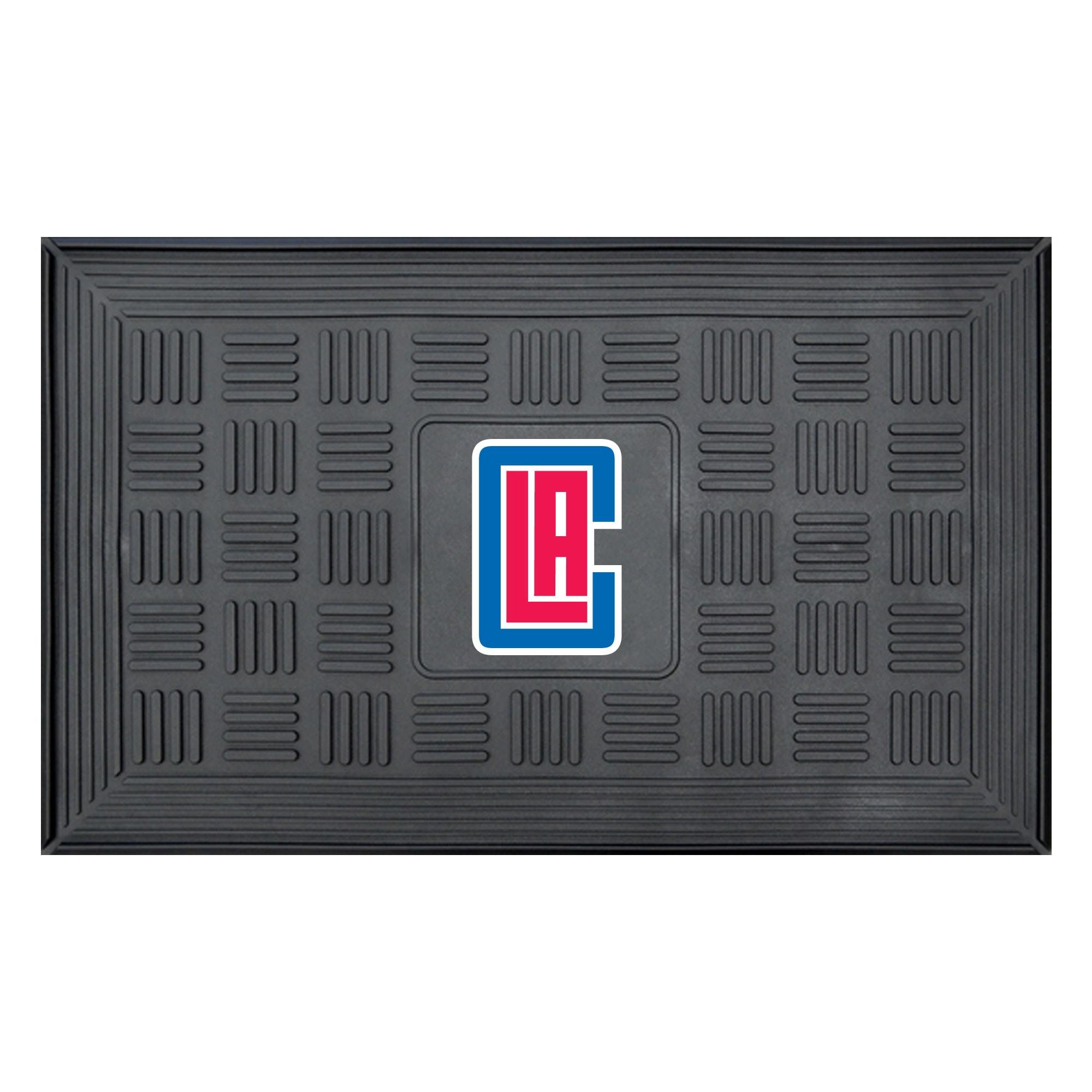 """LA Clippers 19.5"""" x 31.25"""" Medallion Door Mat"""