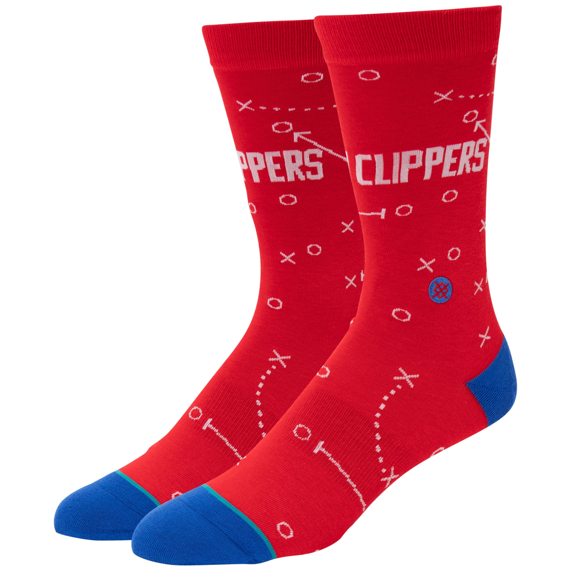 LA Clippers Stance Playbook Crew Socks