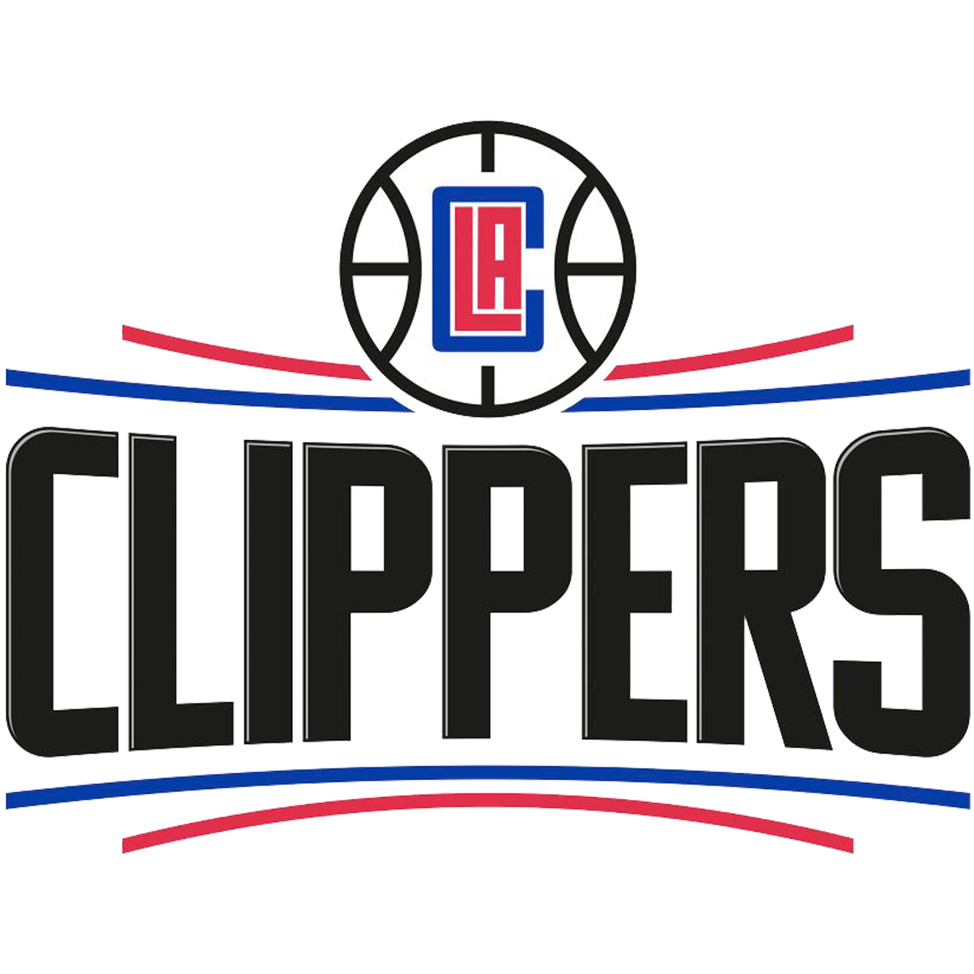 LA Clippers Fathead Logo Giant Removable Decal