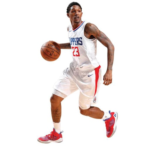 Lou Williams LA Clippers Fathead Life Size Removable Wall Decal