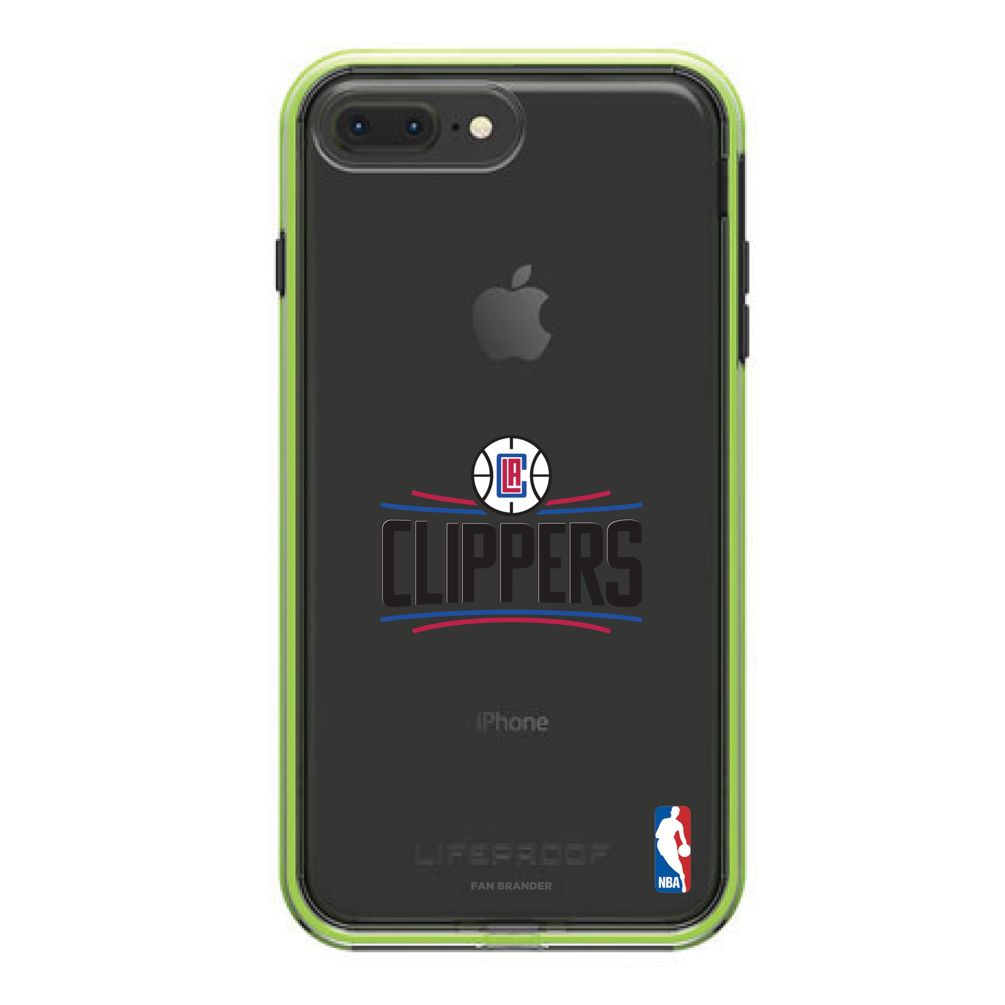 LA Clippers LifeProof Night Flash Primary Logo iPhone Case