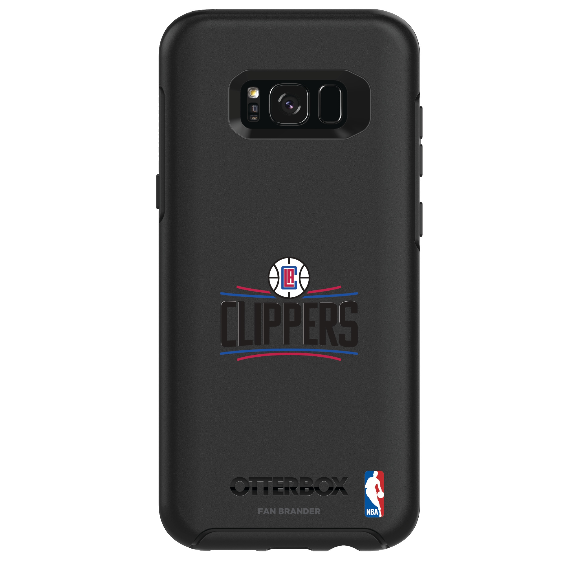 LA Clippers OtterBox Galaxy Primary Logo Symmetry Case