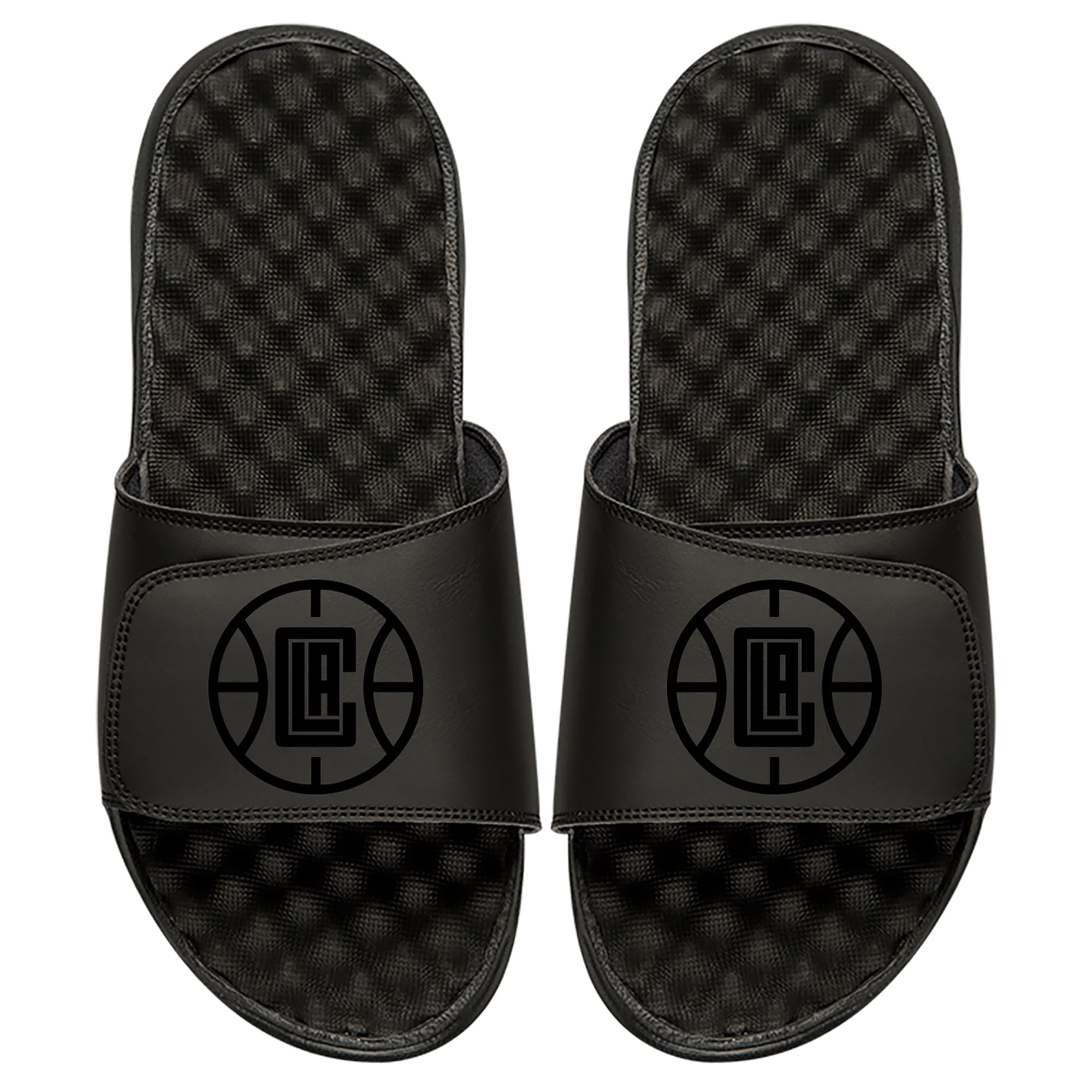 LA Clippers ISlide Tonal Slide Sandals - Black