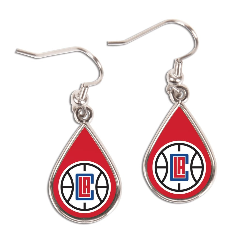 LA Clippers WinCraft Tear Drop Dangle Earrings