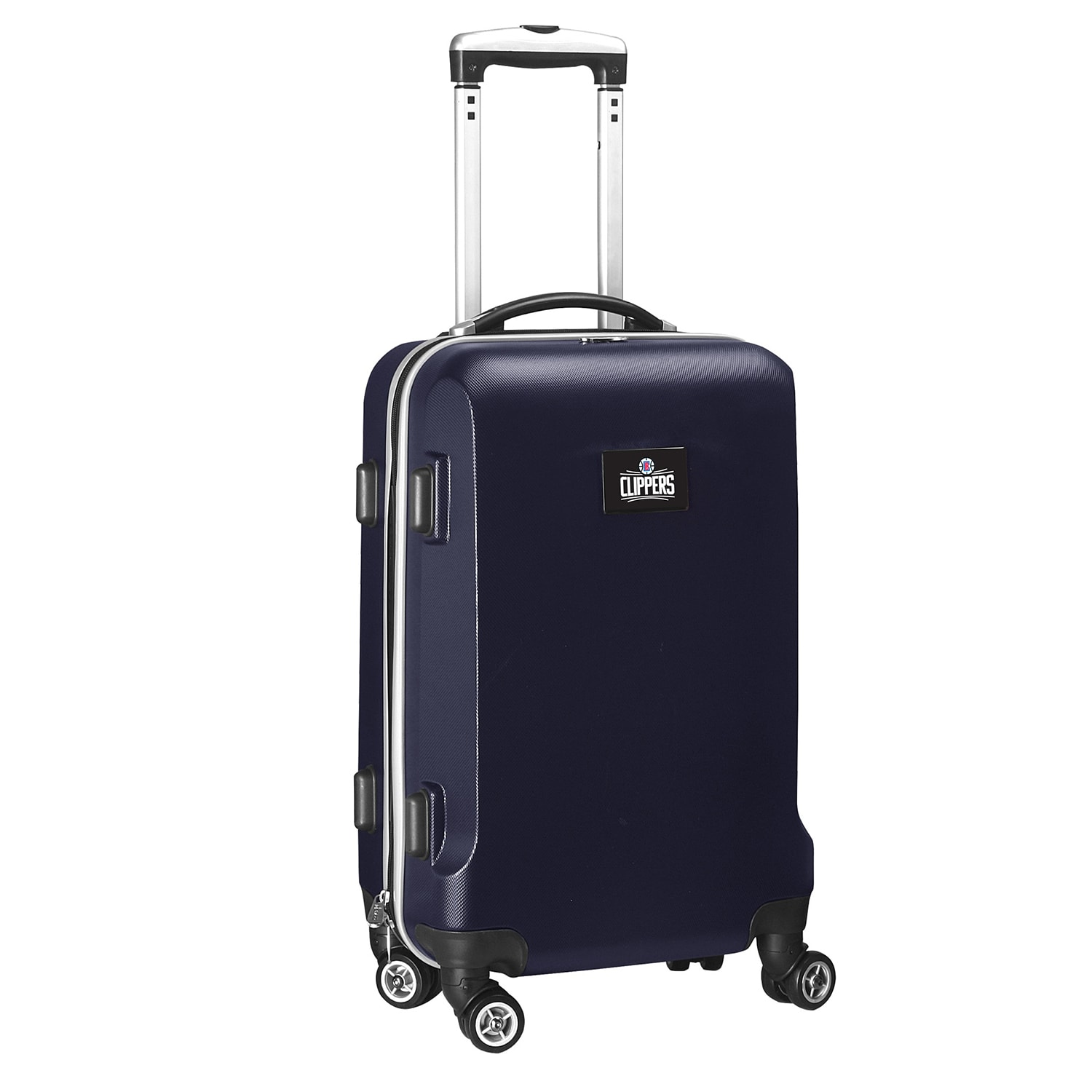 """LA Clippers 21"""" 8-Wheel Hardcase Spinner Carry-On - Navy"""