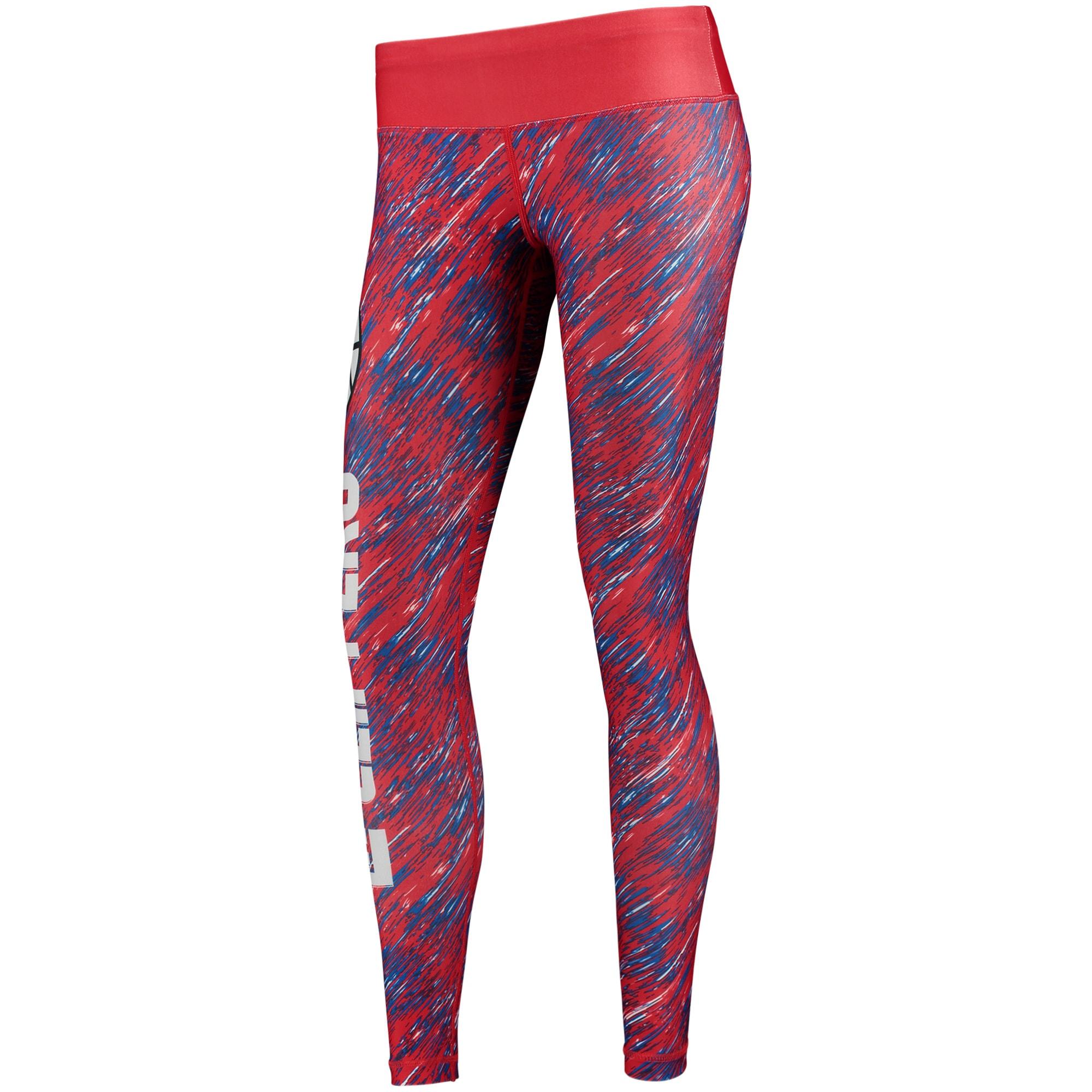 LA Clippers Women's Static Rain Leggings - Red