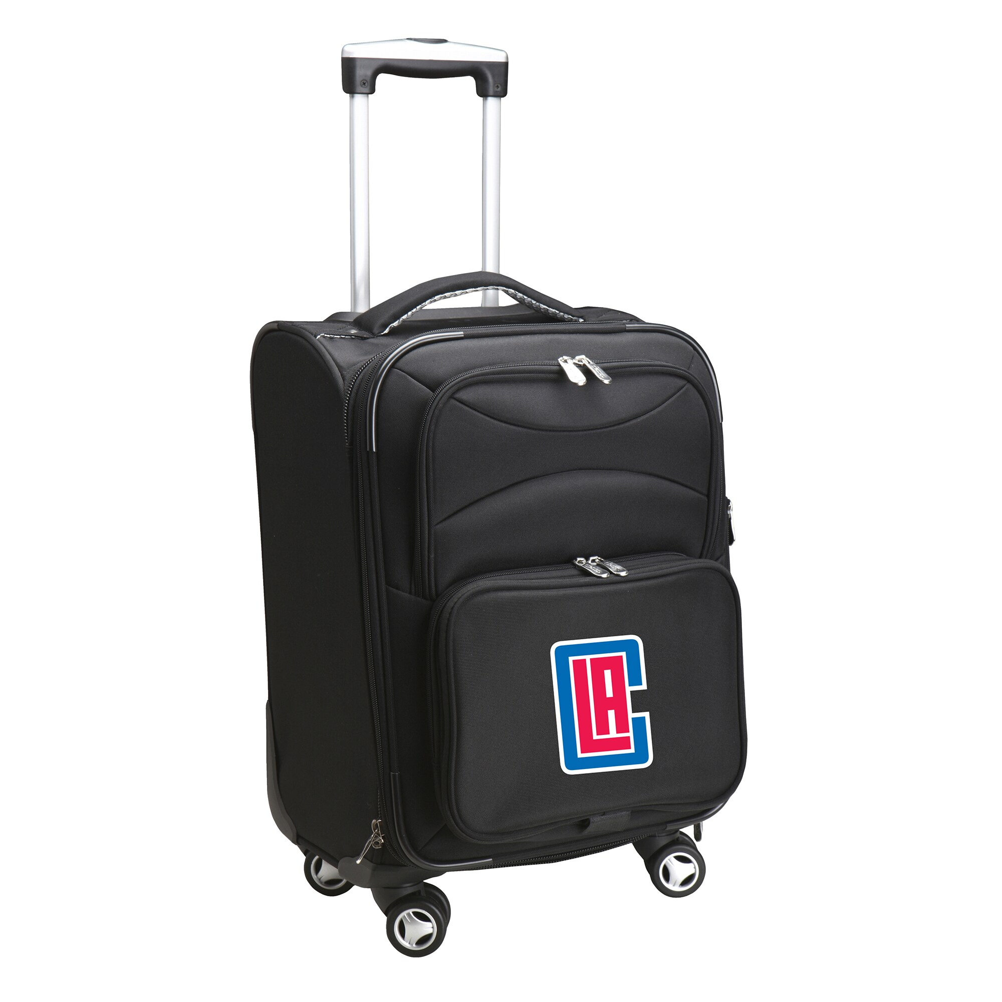 """LA Clippers 21"""" Spinner Carry-On - Black"""