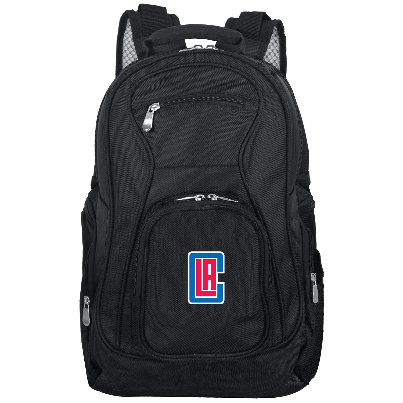 "LA Clippers 19"" Laptop Travel Backpack - Black"