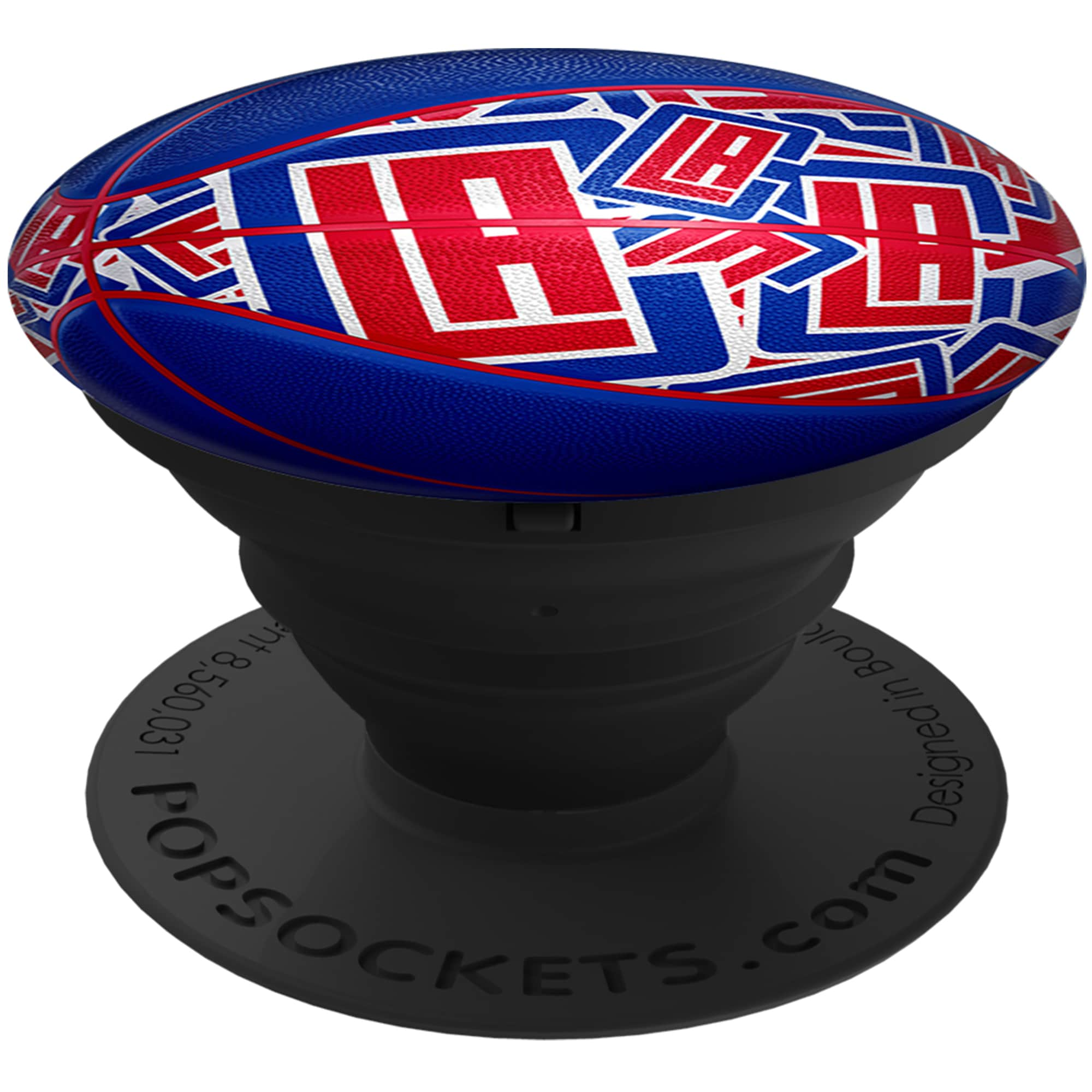 LA Clippers PopSockets Baller Logo Cell Phone Accessory