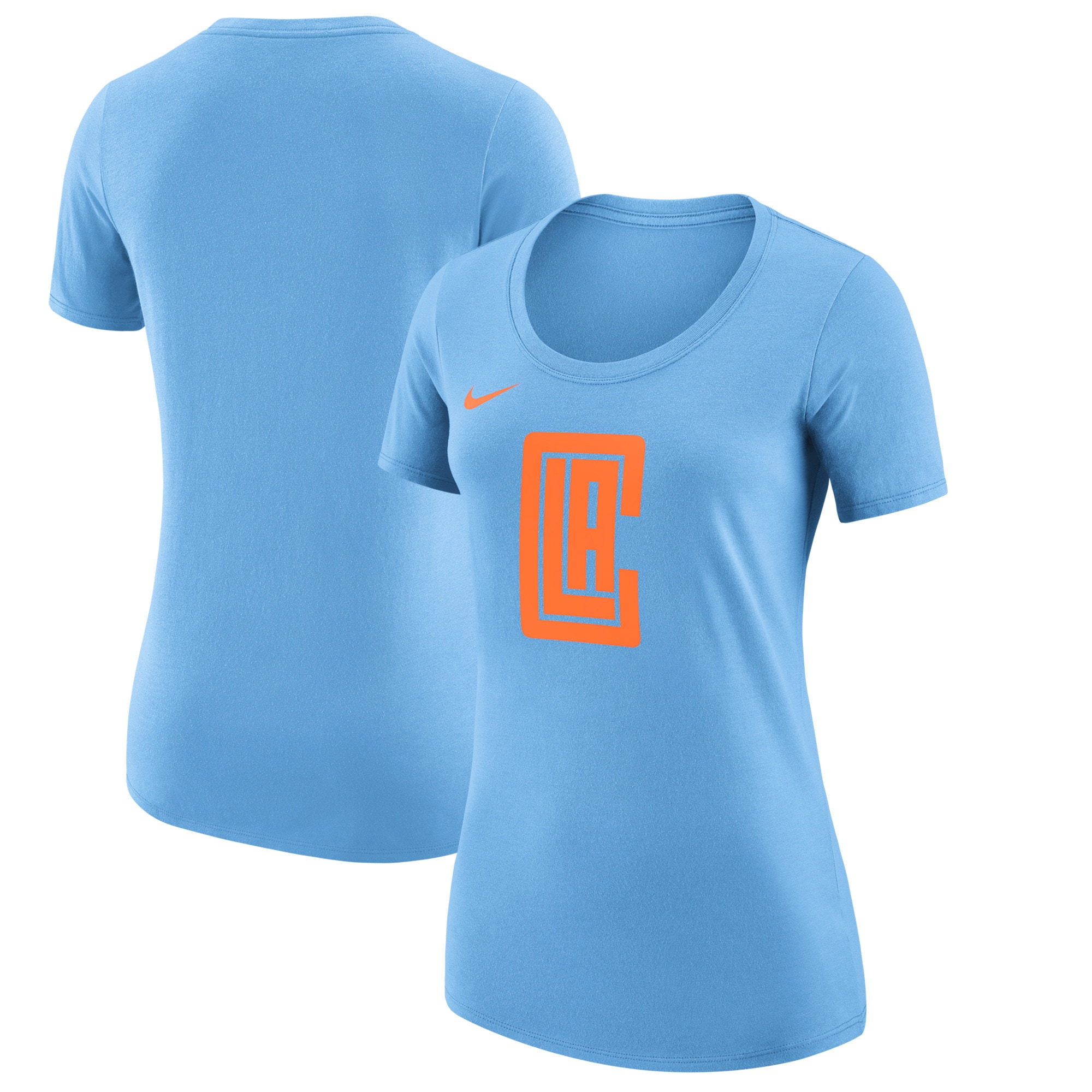 LA Clippers Nike Women's City Edition Essential Team Performance T-Shirt - Blue
