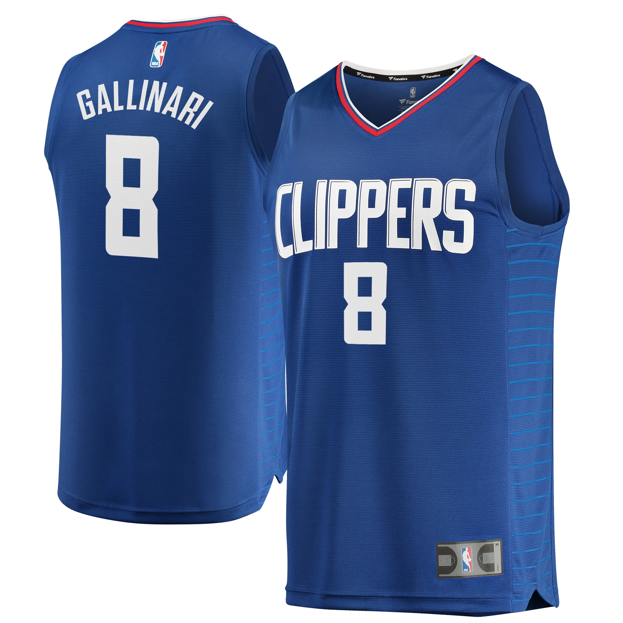 Danilo Gallinari LA Clippers Fanatics Branded Youth Fast Break Replica Jersey Blue - Icon Edition