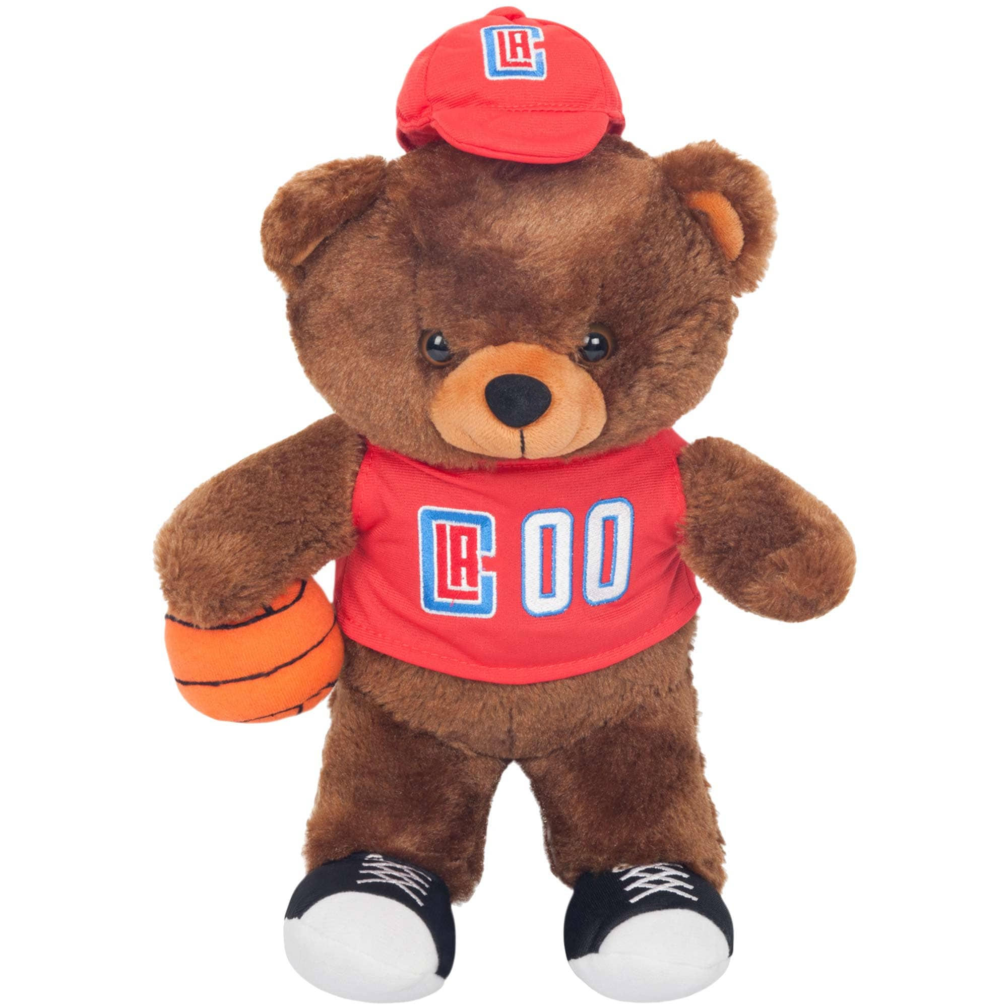 LA Clippers Locker Room Buddy Dress Me Plush Bear Kit