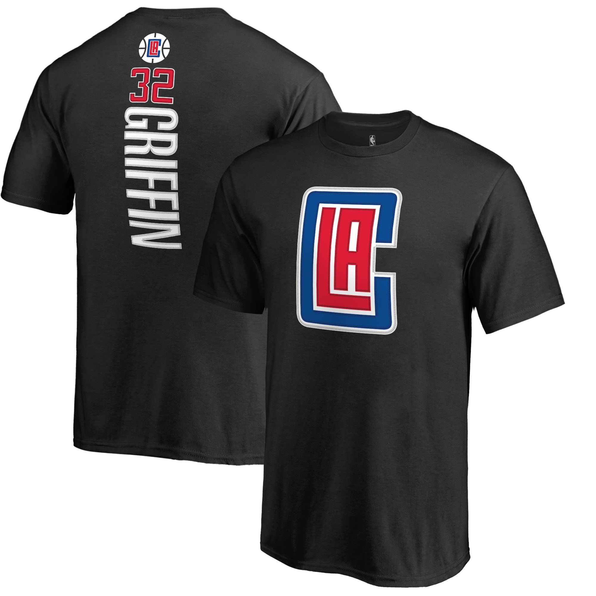 Blake Griffin LA Clippers Fanatics Branded Youth Backer Name & Number T-Shirt - Black