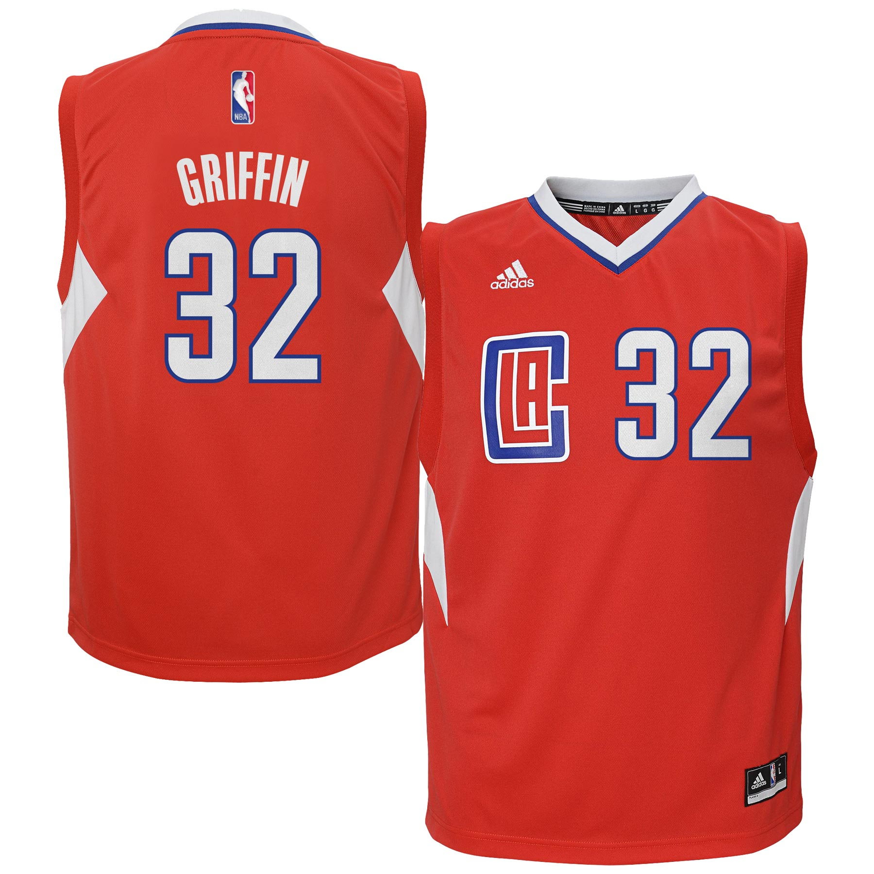 Blake Griffin LA Clippers adidas Youth Replica Jersey - Red
