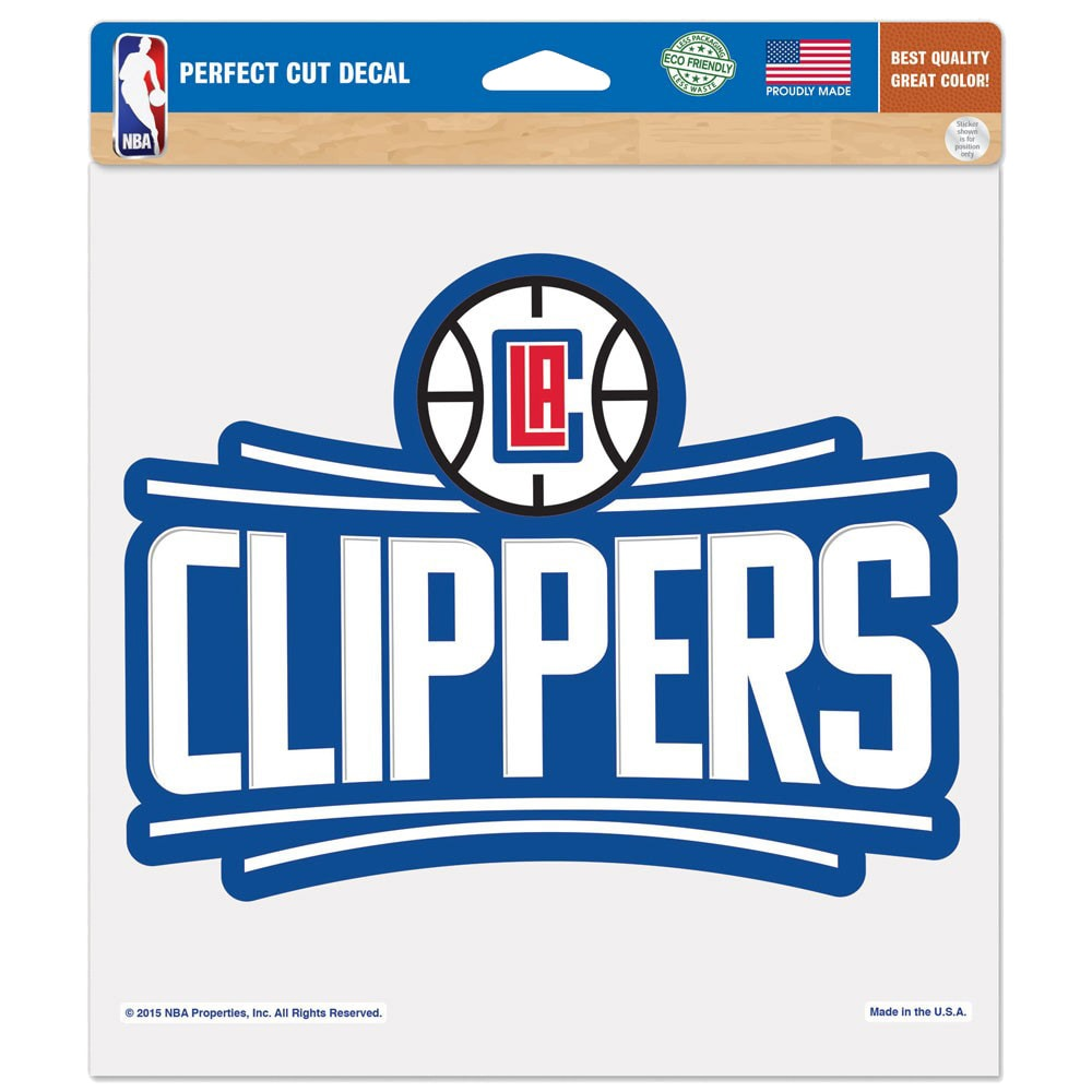 "LA Clippers WinCraft 8"" x 8"" Color Decal"