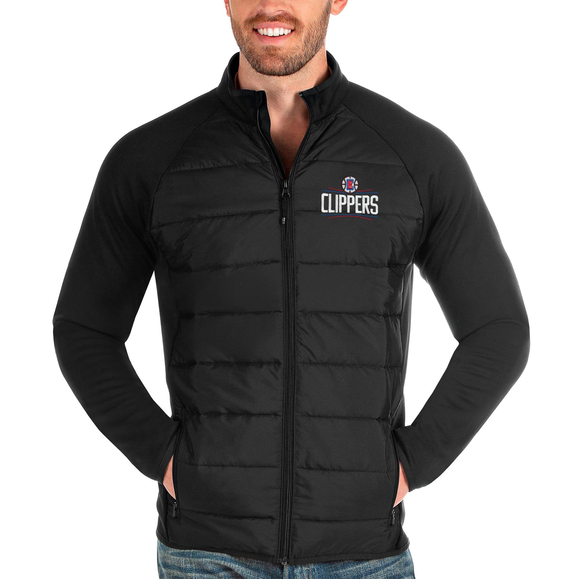 LA Clippers Antigua Altitude Full-Zip Jacket - Black