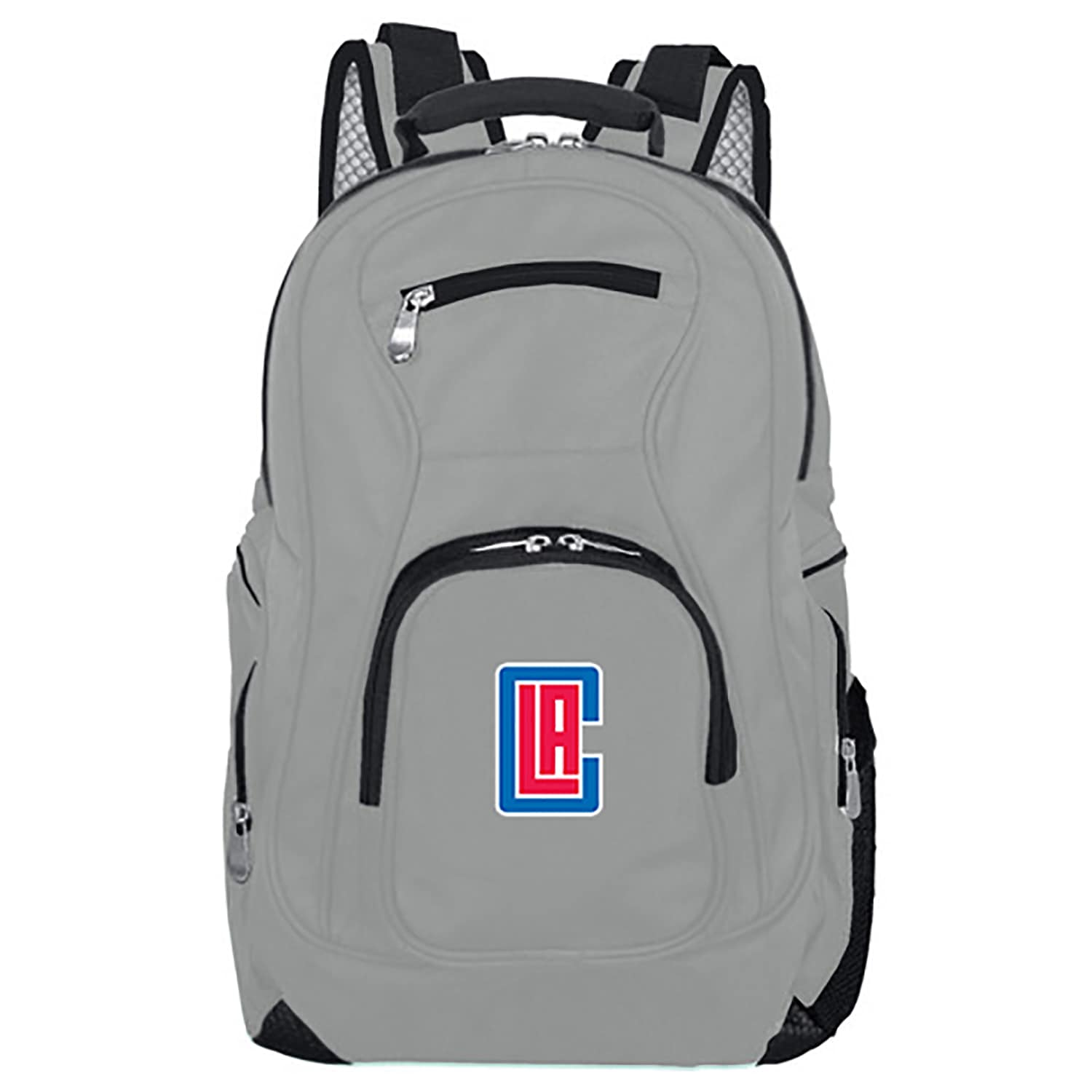 LA Clippers Backpack Laptop - Gray